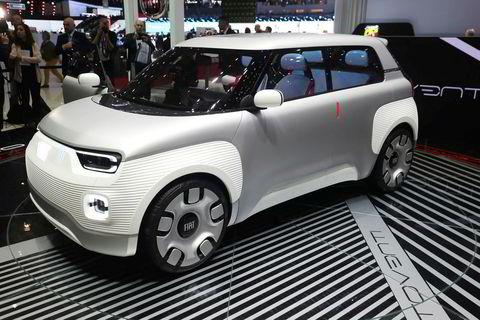 Fiat Centoventi concept i Genève 2019.
