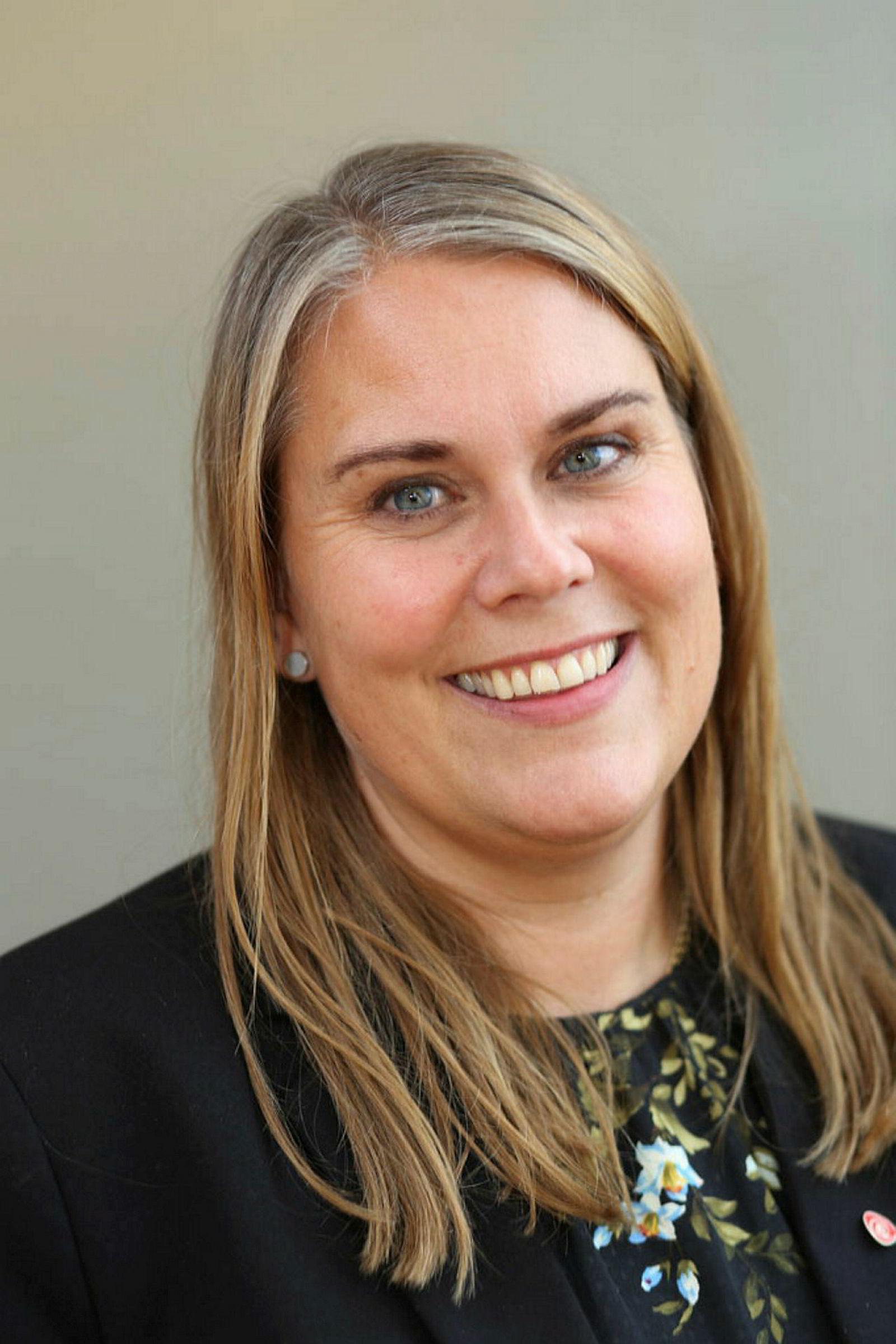 Stortingsrepresentant og boligpolitisk talsperson Siri Gåsemyr Staalesen i Arbeiderpartiet.