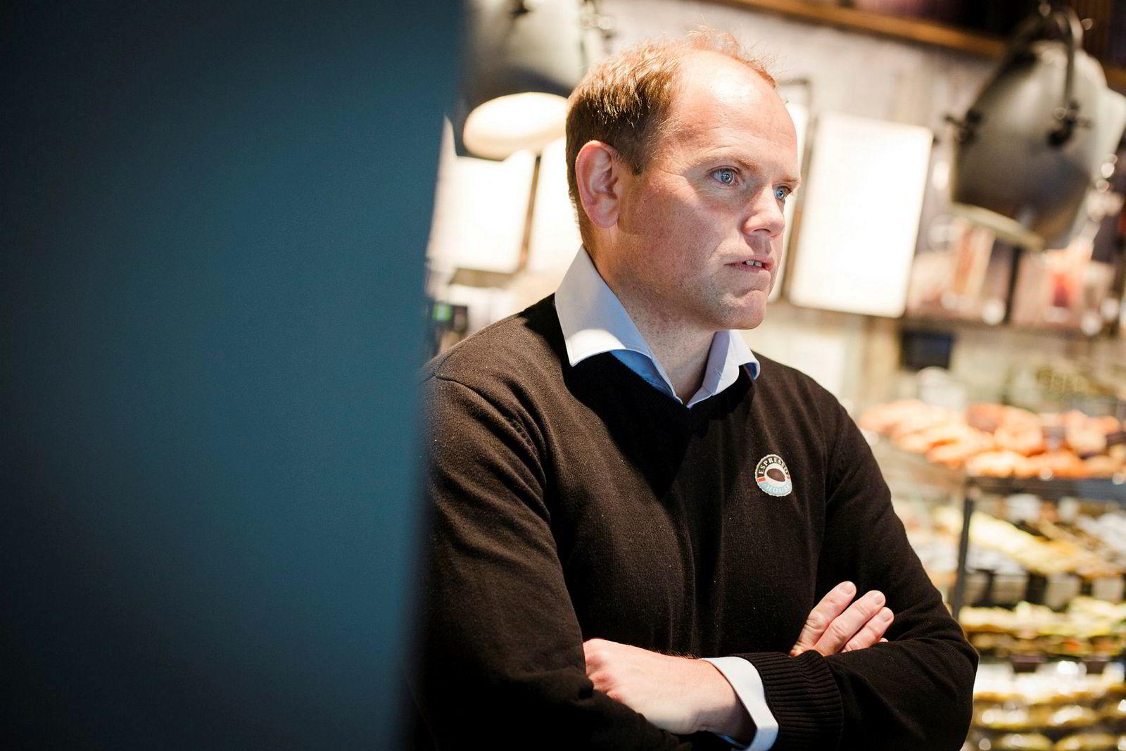 Torodd Gøystdal er toppsjef i Espresso House Norge.