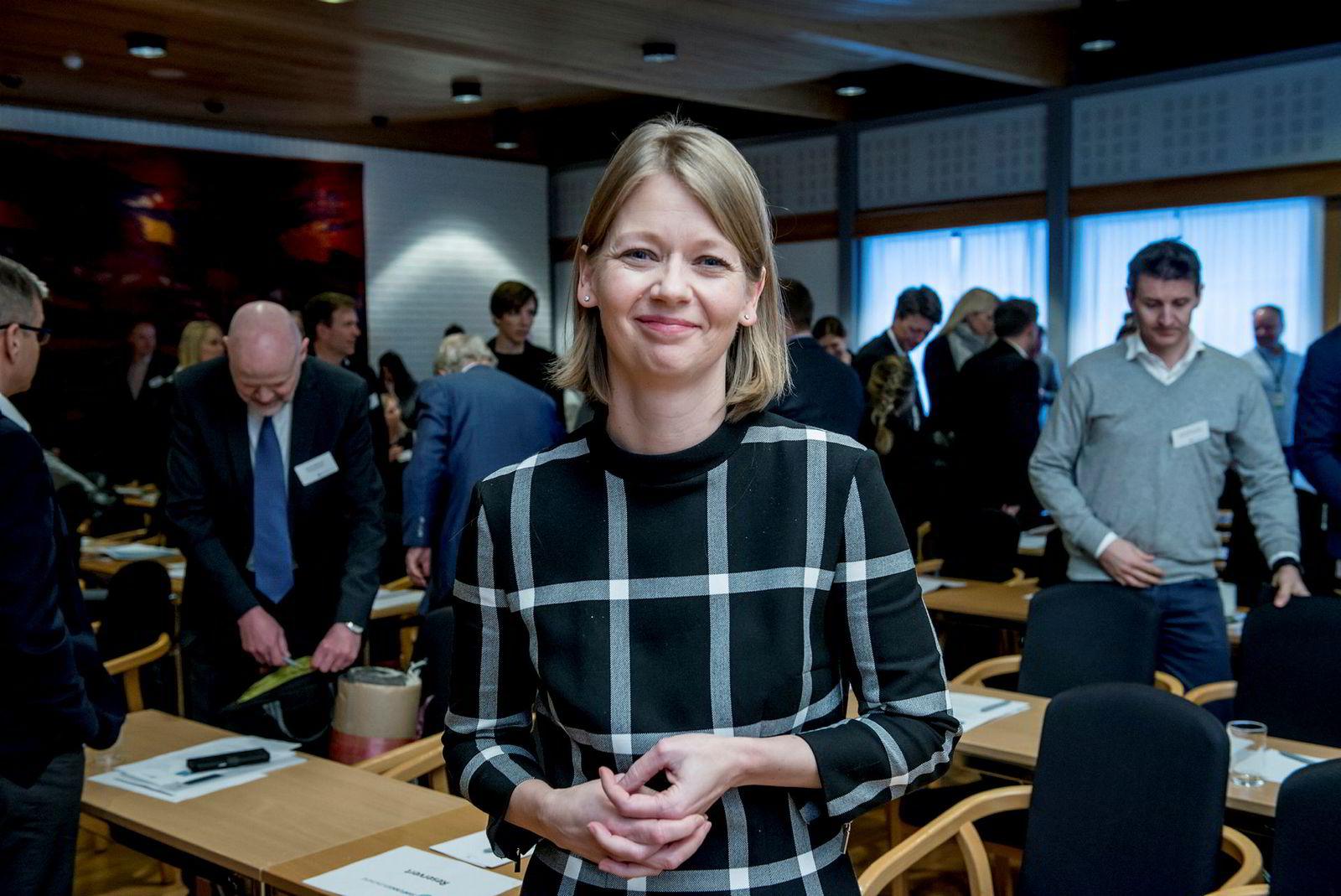 Ida Wolden Bache, avdelingsdirektør for pengepolitikk i Norges Bank, er en het kandidat for jobben som en av to visesentralbanksjefer.