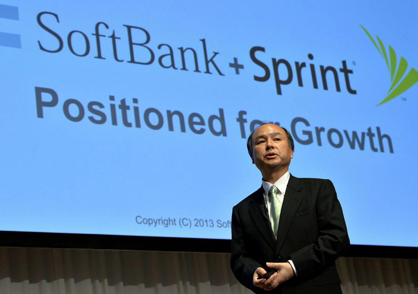 Softbank-sjef Masayoshi Son sitter med nøkkelen både til en fusjon og Tidals fremtid.
