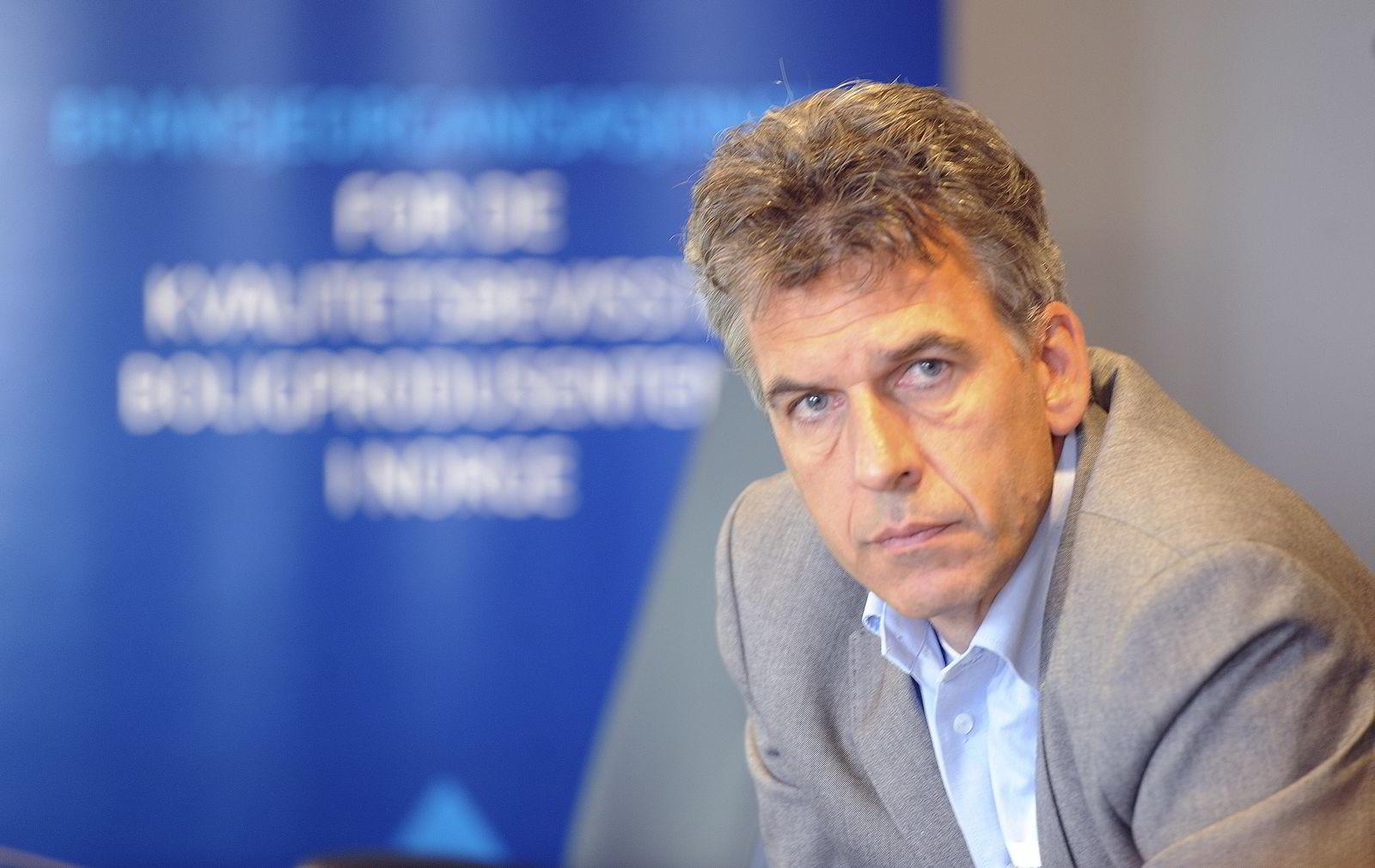Administrerende direktør Bjørn Birkeland i Prognosesenteret. Foto: Terje Pedersen/