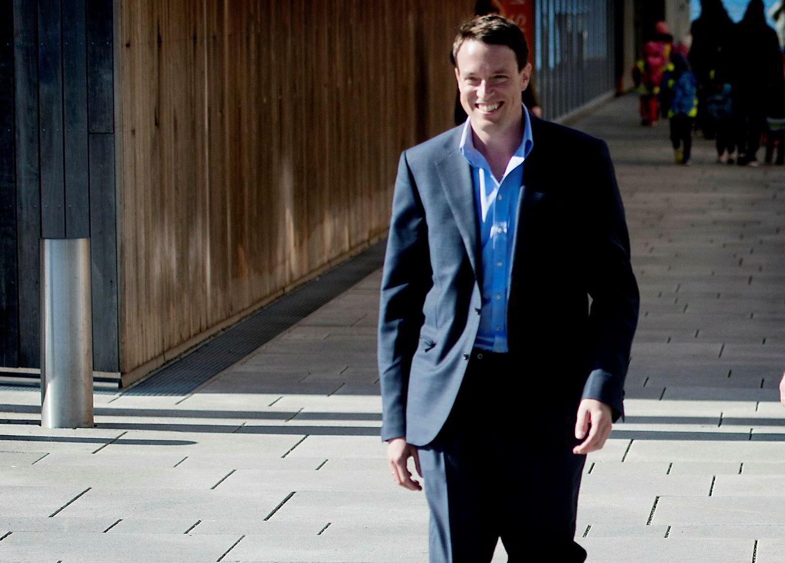 Fredrik Halvorsen (bildet) er største investor i Titan Opportunities.