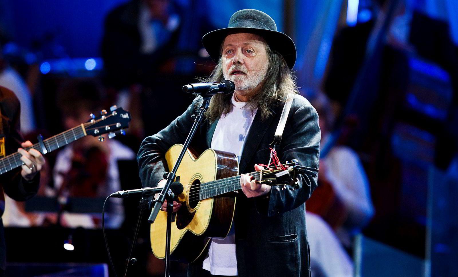 Visesangeren Lillebjørn Nilsen spilte på Norwegian Wood-festivalen i fjor sommer.