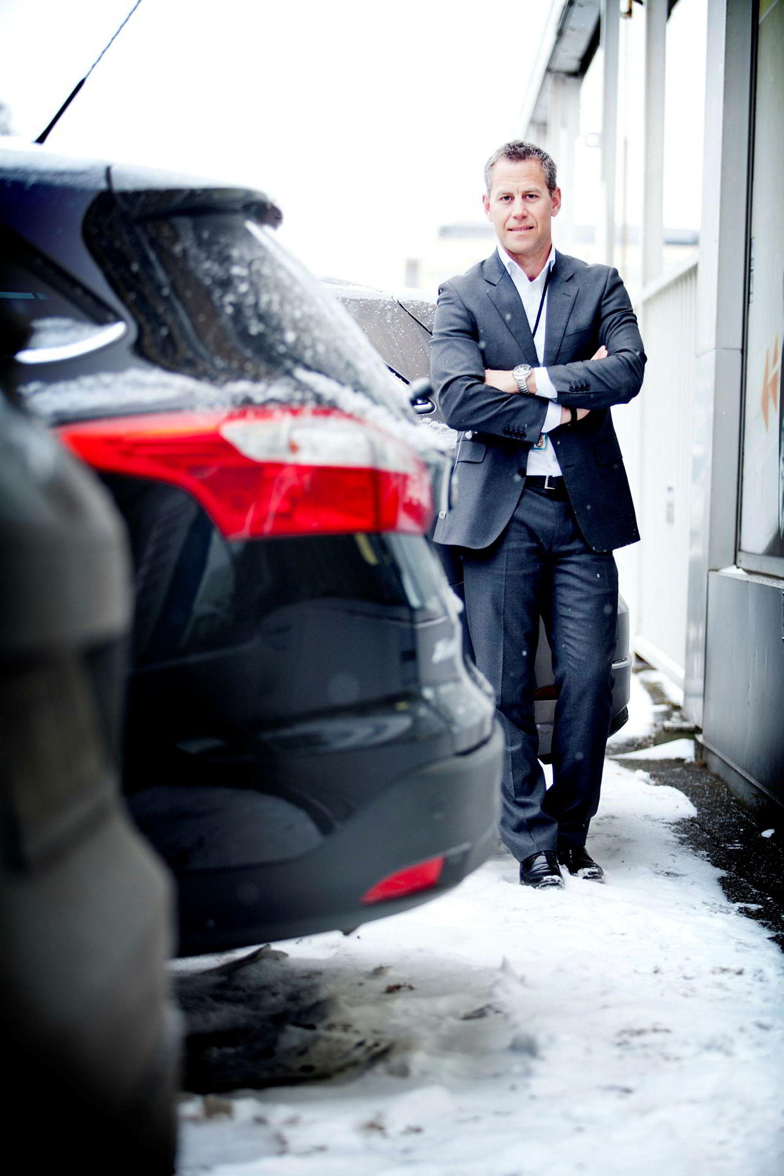 Haakon Marthinsen i Autolease, DNB.