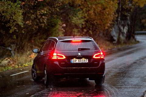 Peugeot 308 ble tidligere i år kåret til Årets bil. I Firmabiltesten er den ikke helt på vinnersporet.