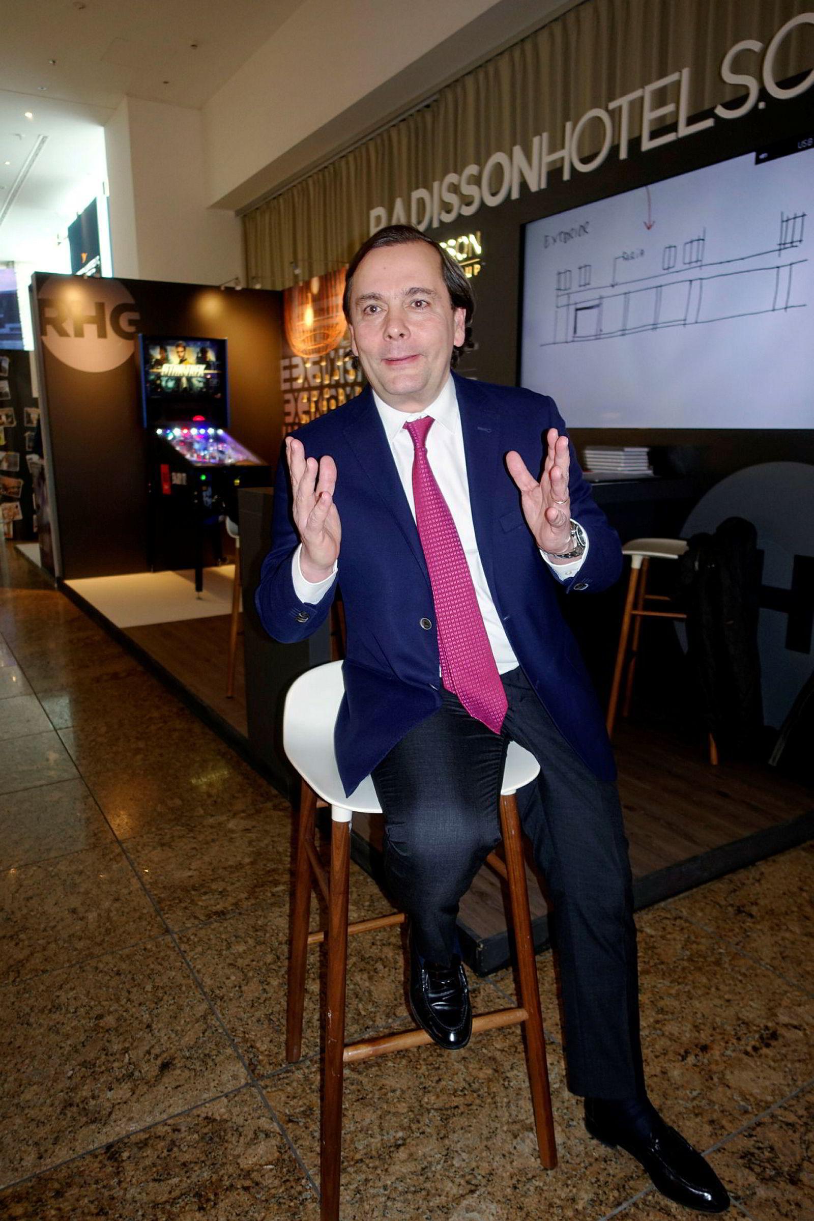Federico J. González er konsernsjef i hotellkjeden Radisson Hospitality.