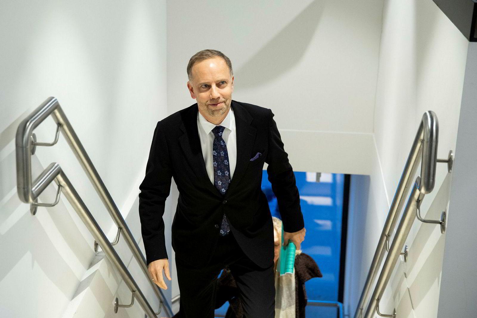 Administrerende direktør i Eiendom Norge, Christian Vammervold Dreyer, mener det kan være lurt å selge på vinteren.