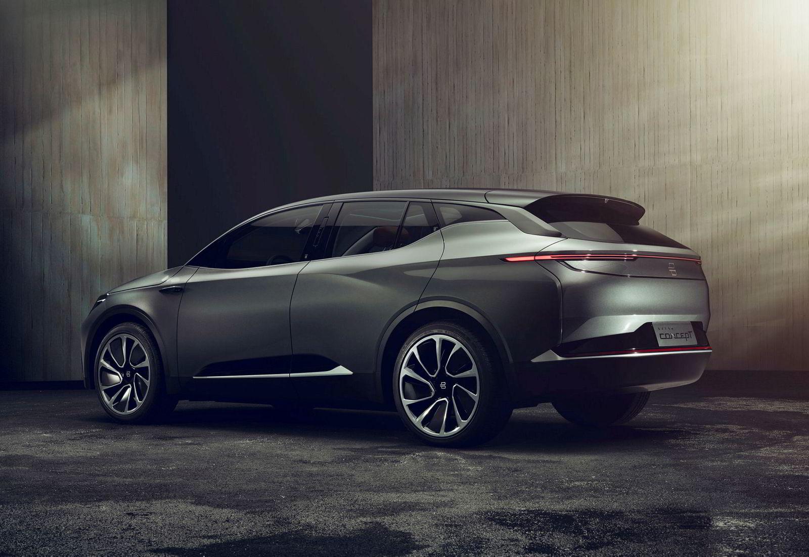 Bilen skal komme til Europa i 2020.
