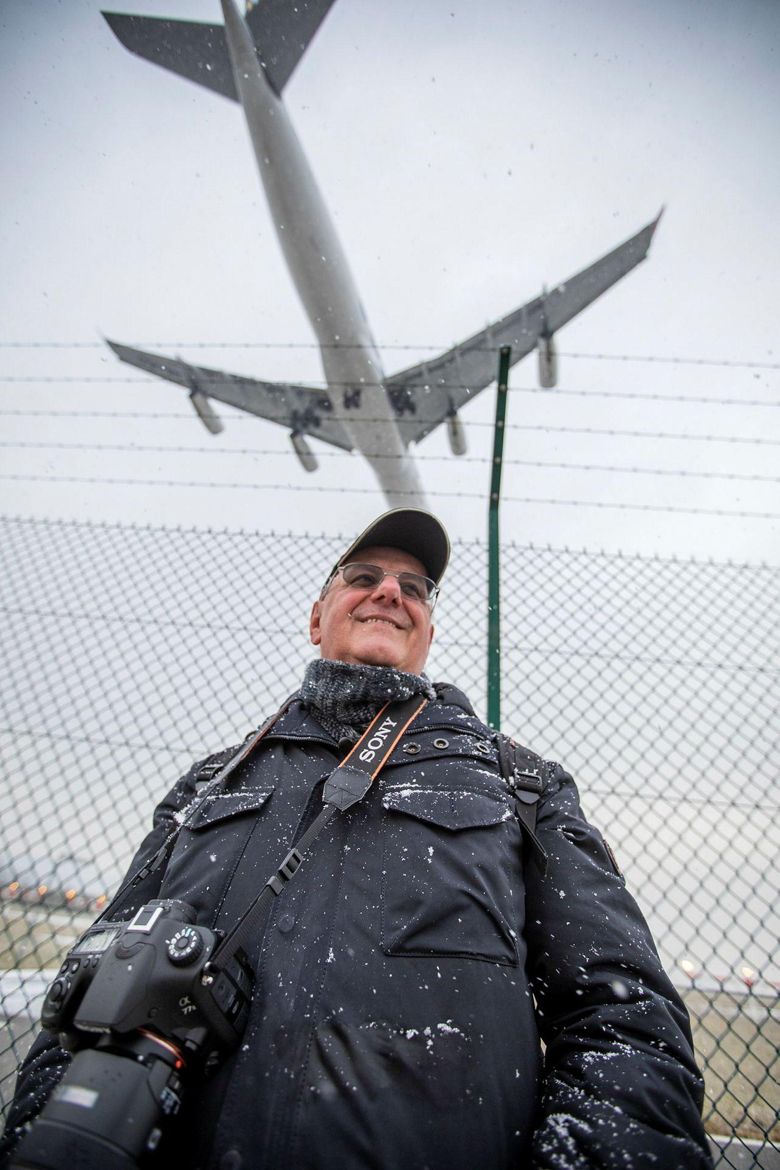 Christian Sutter-Pekonen savner Air Force One og Donald Trump i Davos.