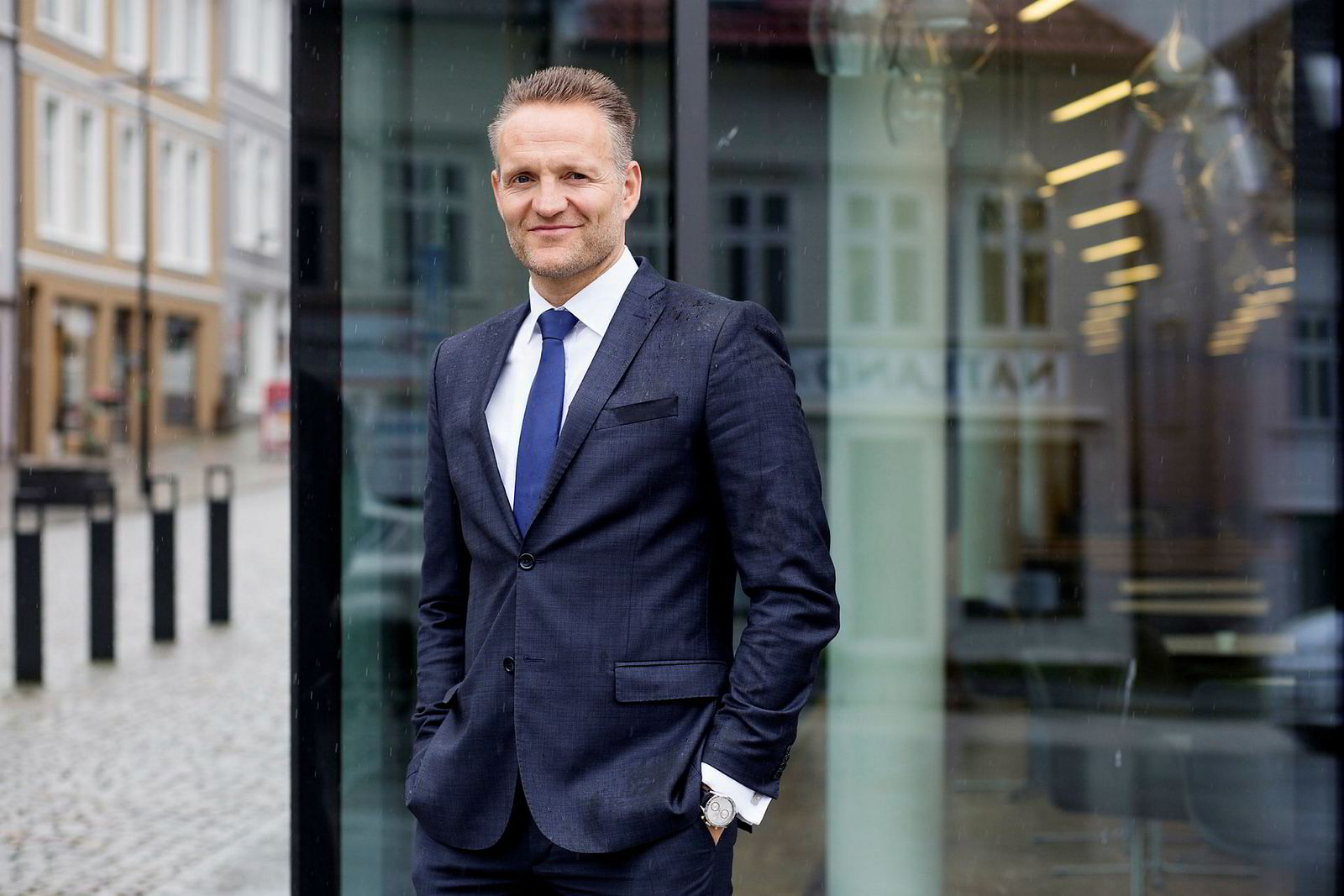 Konsernsjef Jan Erik Kjerpeseth, Sparebanken Vest.