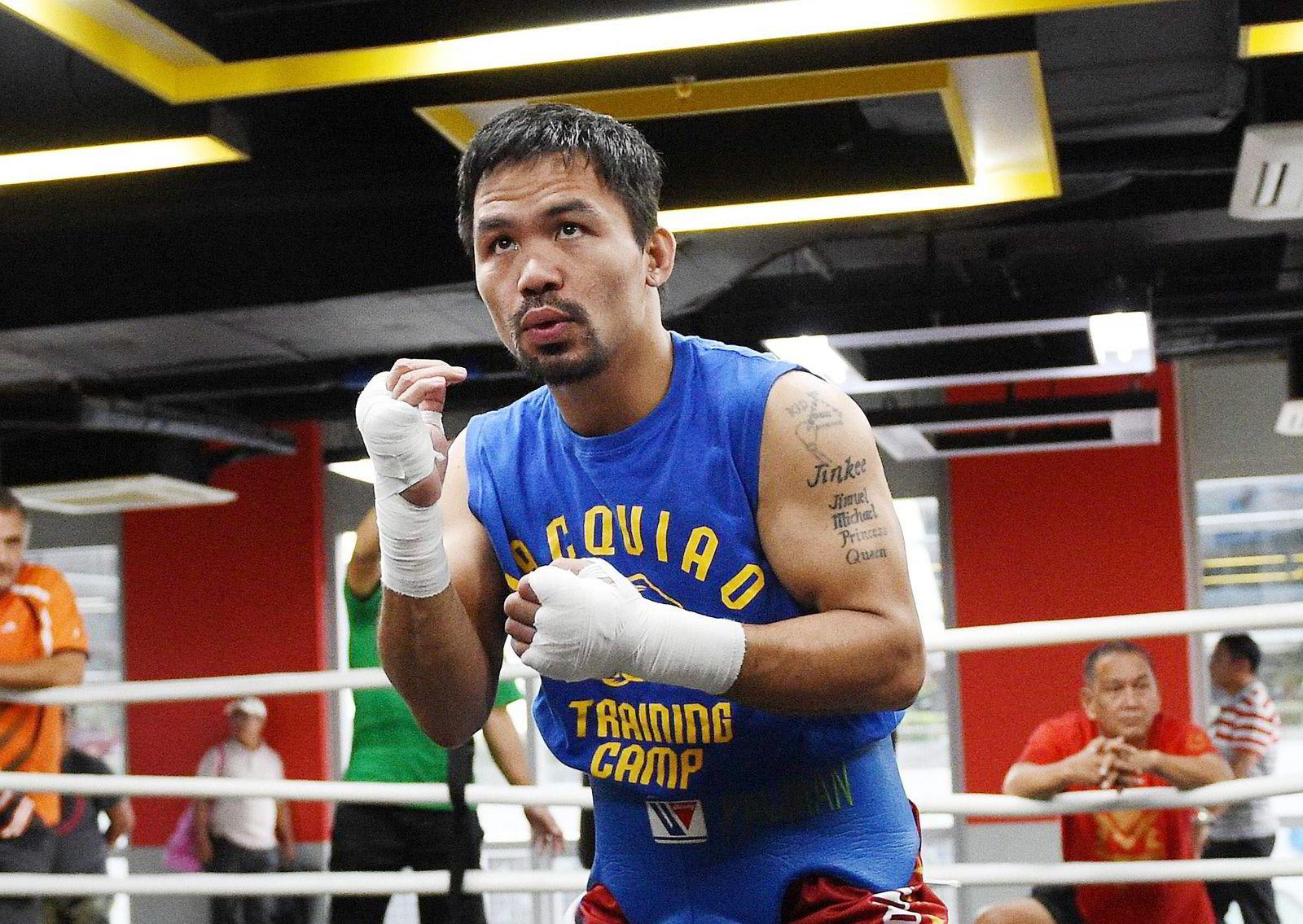 Nike avsluttet sin avtale med den filippinske boksestjernen Manny Pacquiao i februar 2016 etter at han uttalte at homofile var verre enn dyr.