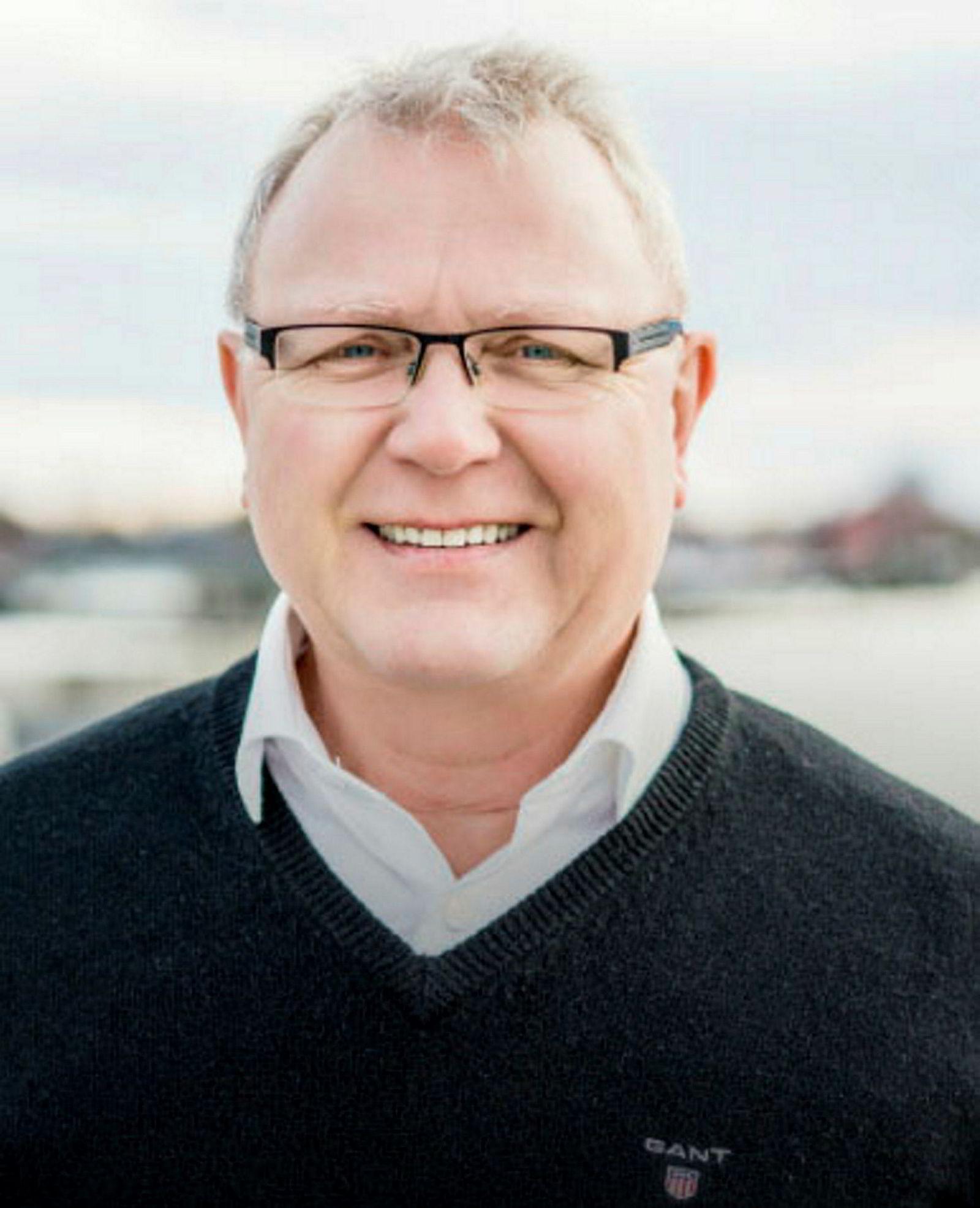 Eiendomsmegler Tom Didrik Eriksen.