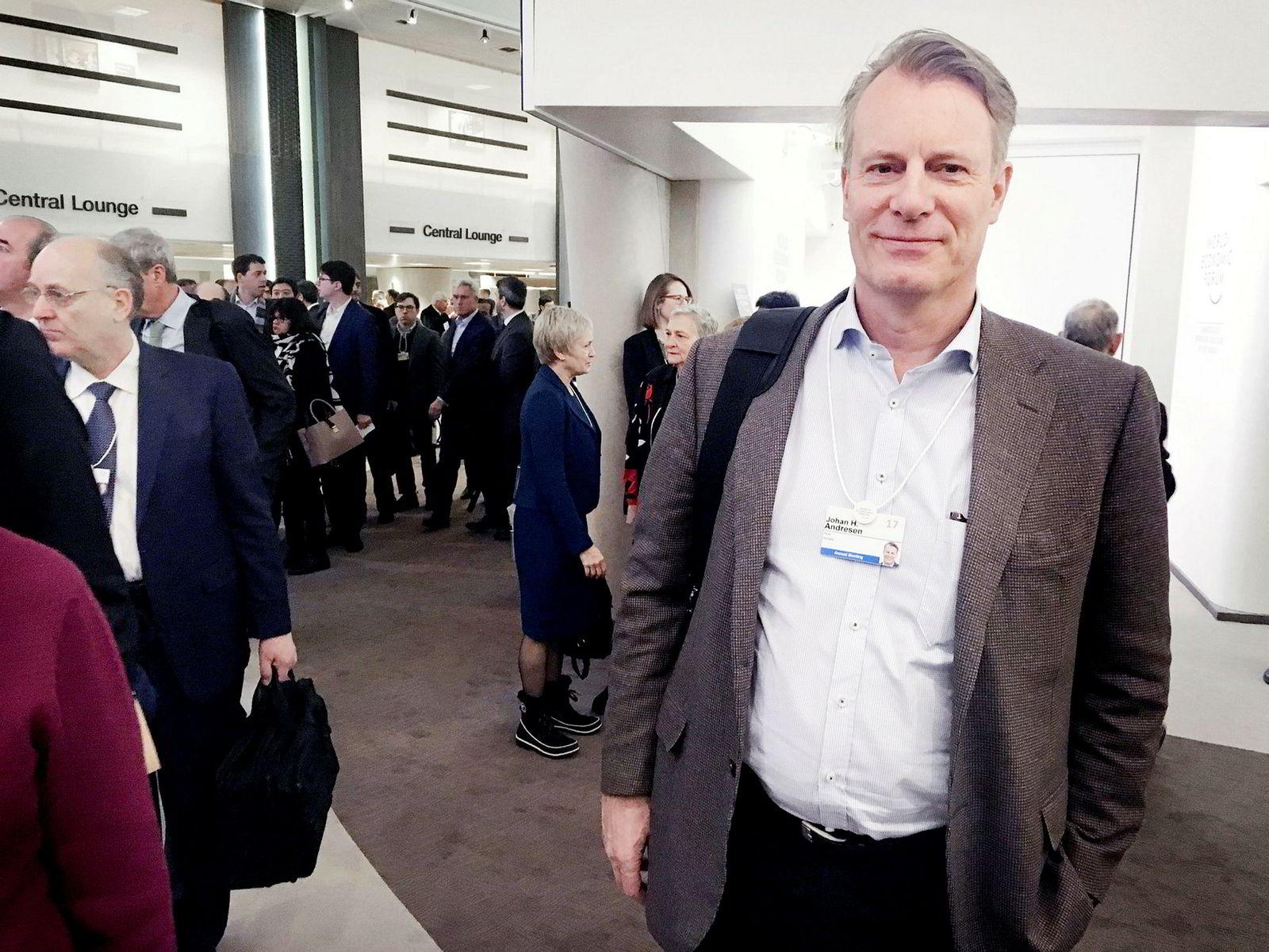 Johan H. Andresen har flere avtaler med finansminister Siv Jensen.