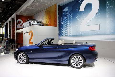 BMW 2-serie cabriolet.