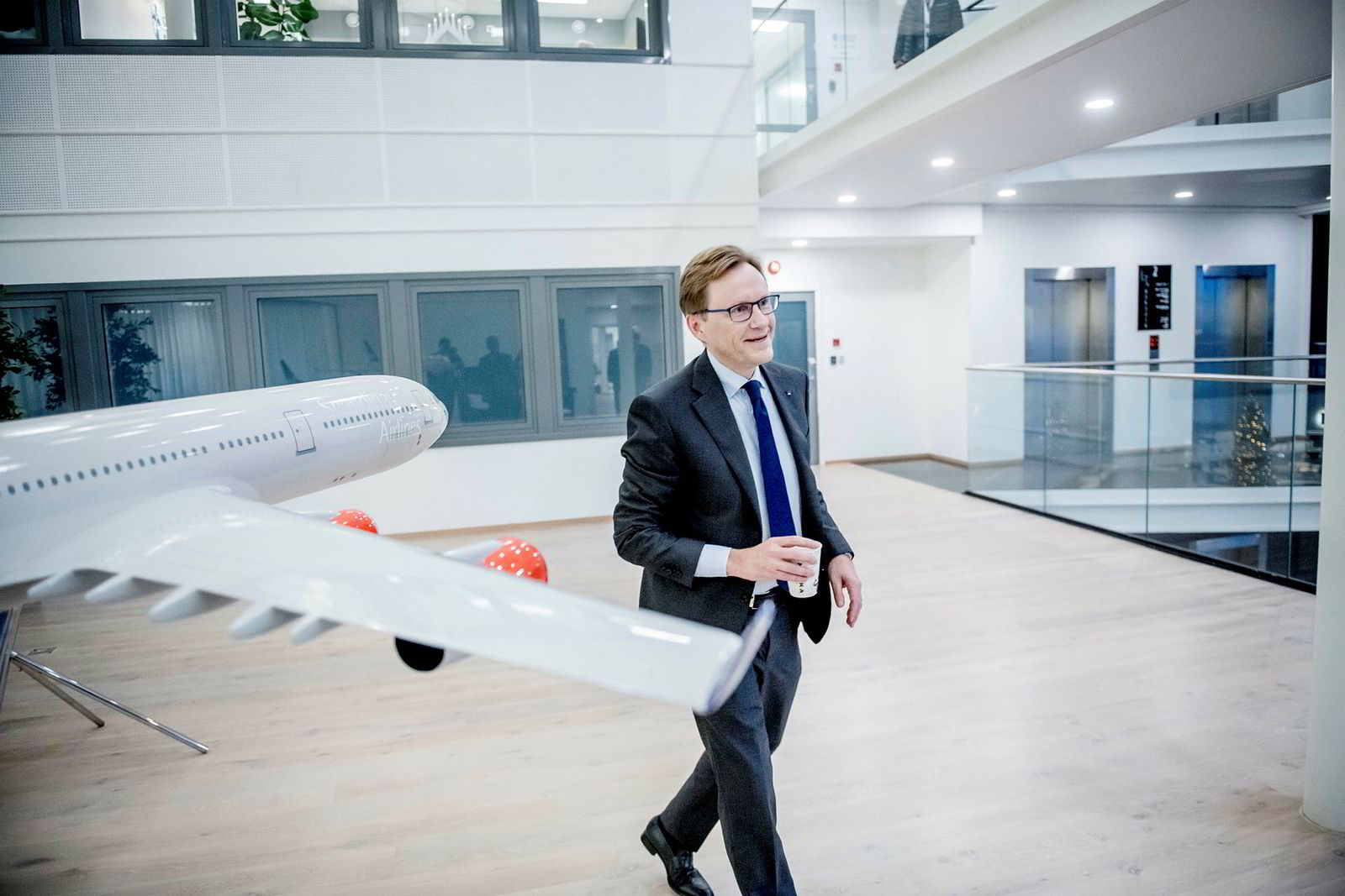 Finansdirektør Torbjørn M. Wist i SAS.