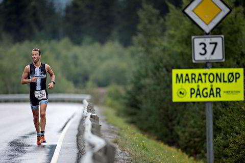 Lars Petter Stormo synes løpingen går tungt.