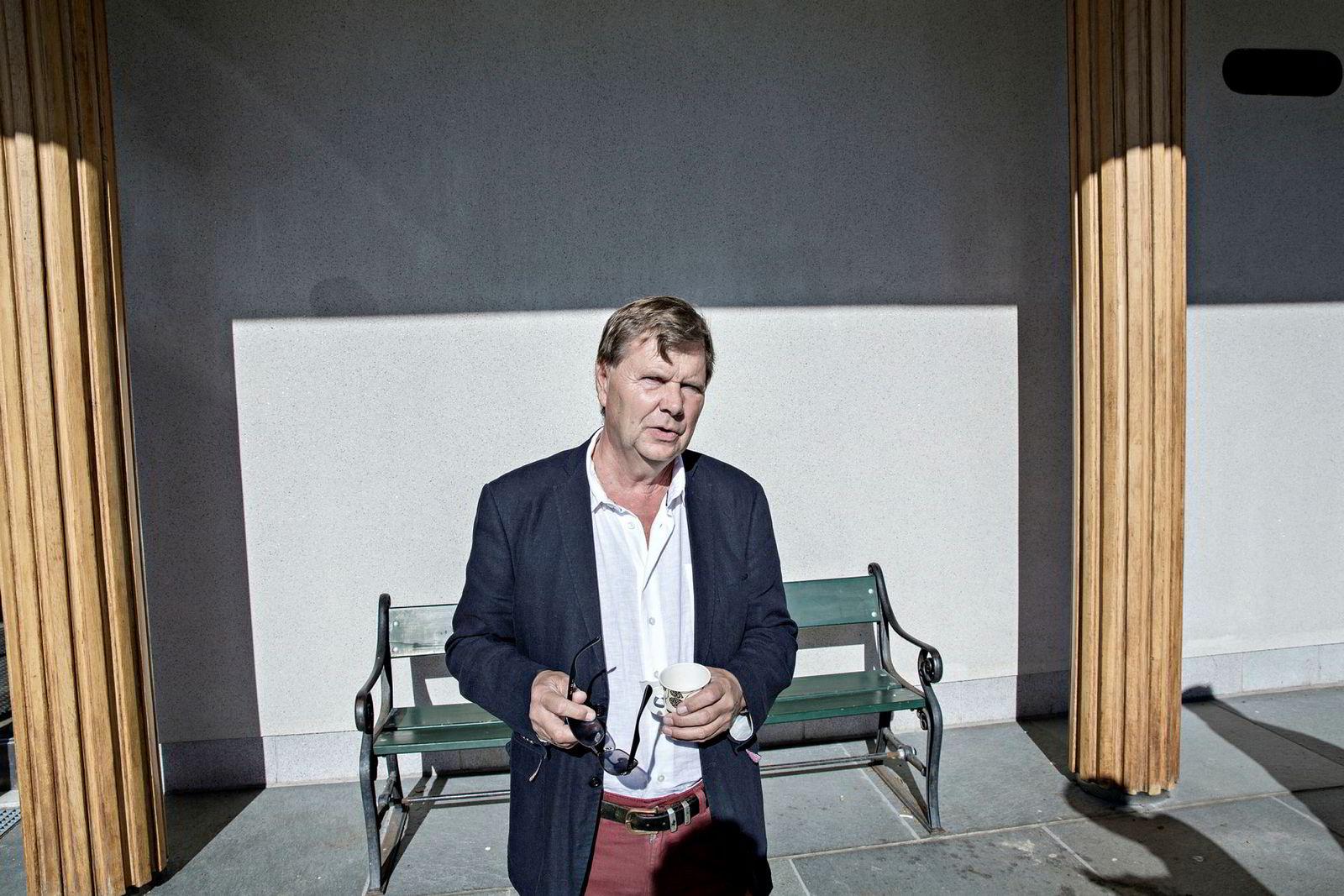 Svein Larsen er sjef i Radio Metro.