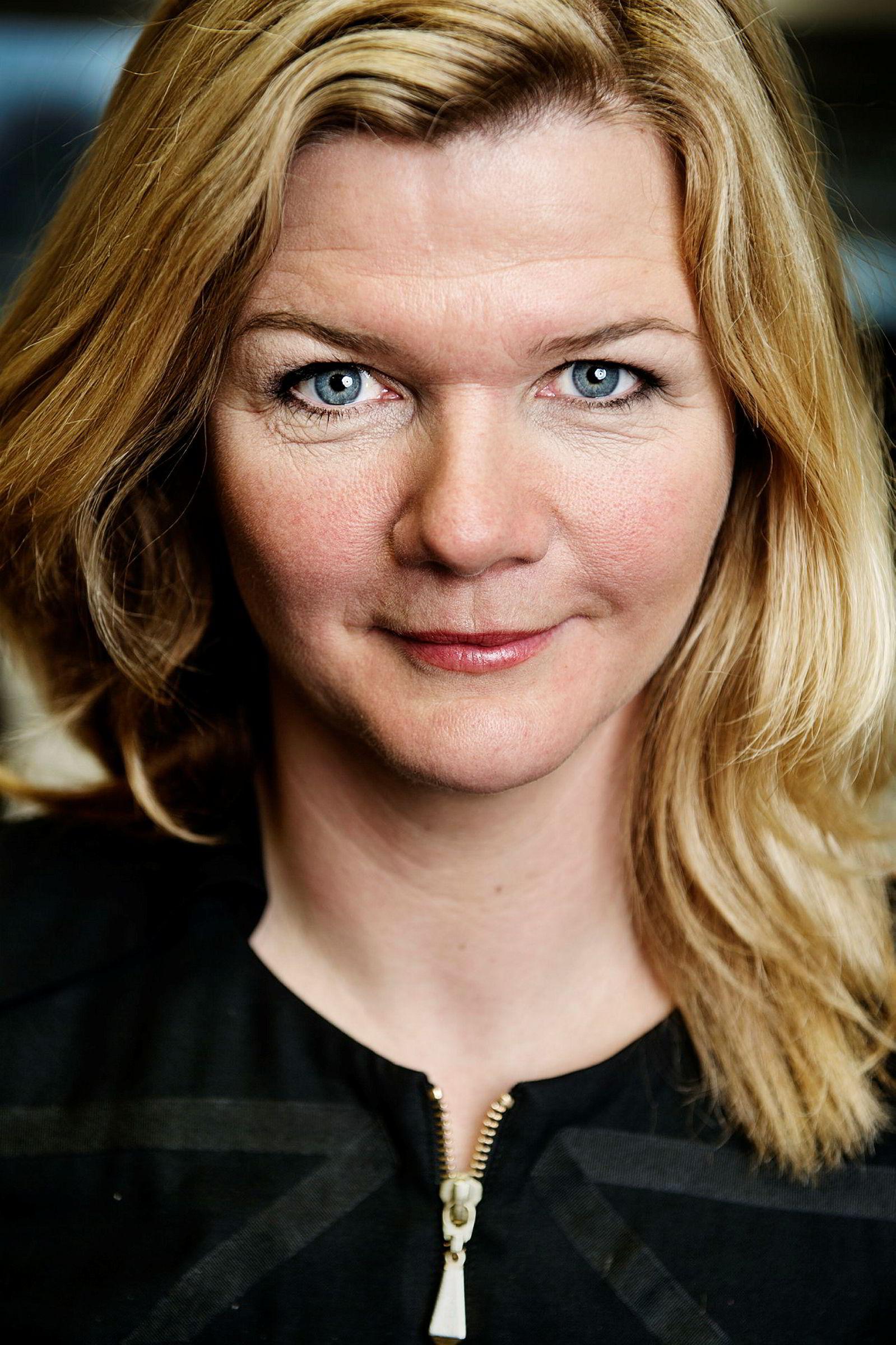 Programleder Anne Lindmo.