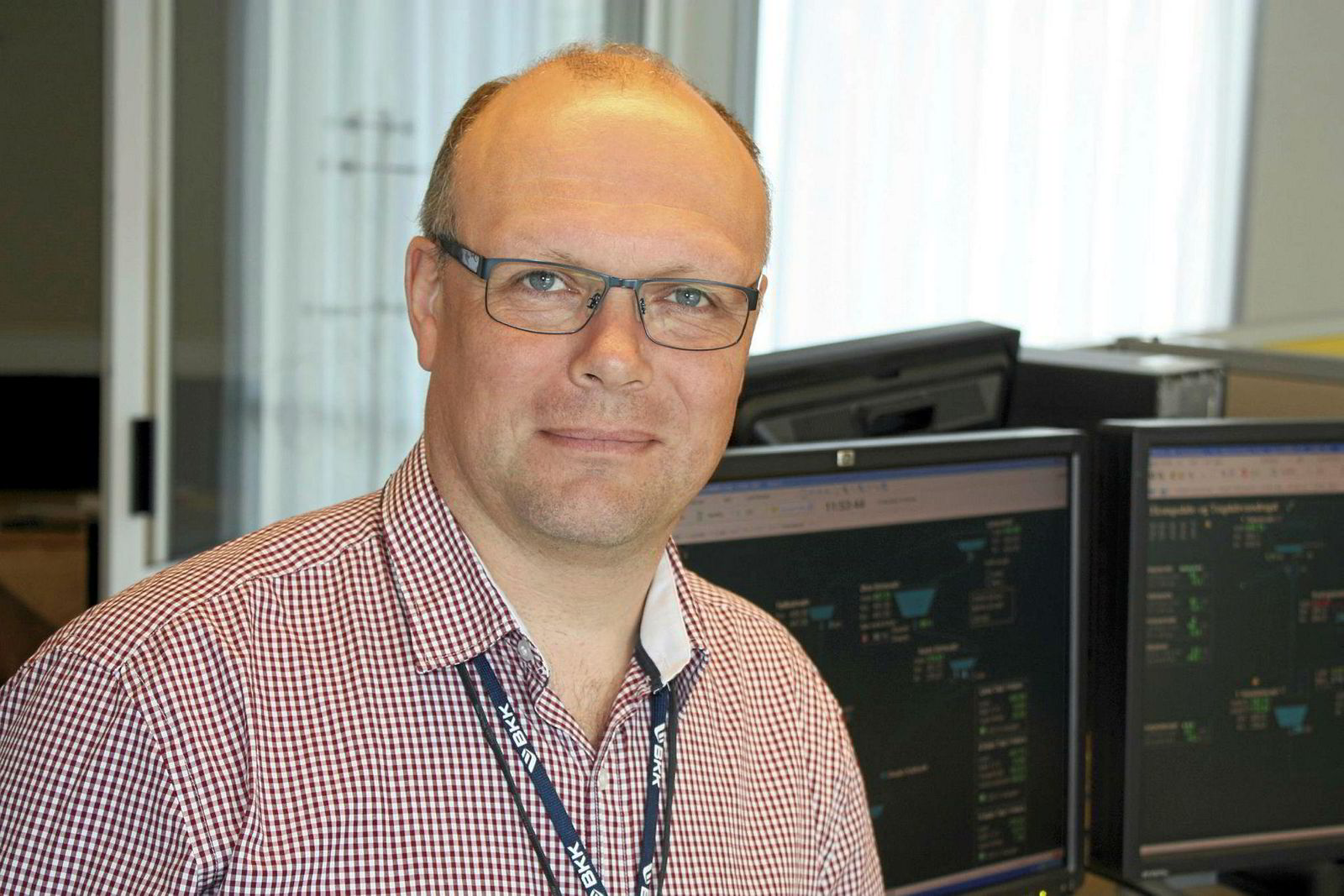 Erik Spildo, produksjonssjef BKK.