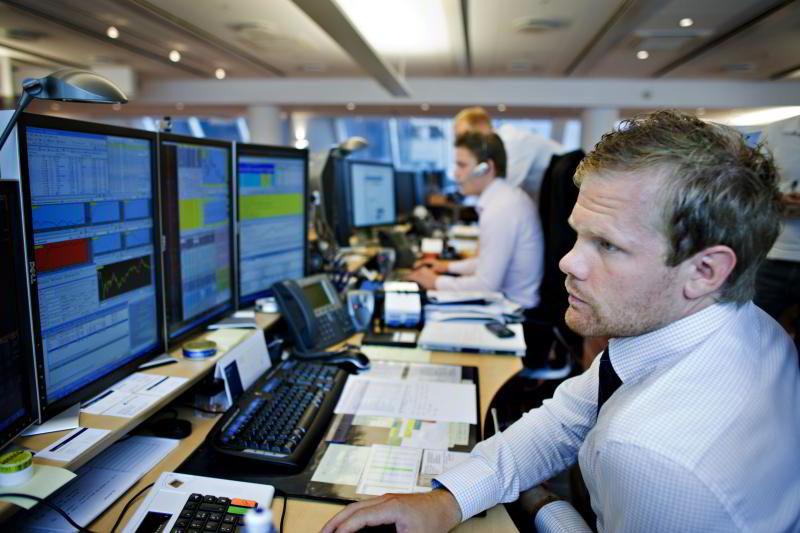 Aksjemegler Ole-Marius Lauritzen i Handelsbanken Capital Markets. Arkivfoto: Sigbjørn Sandsmark