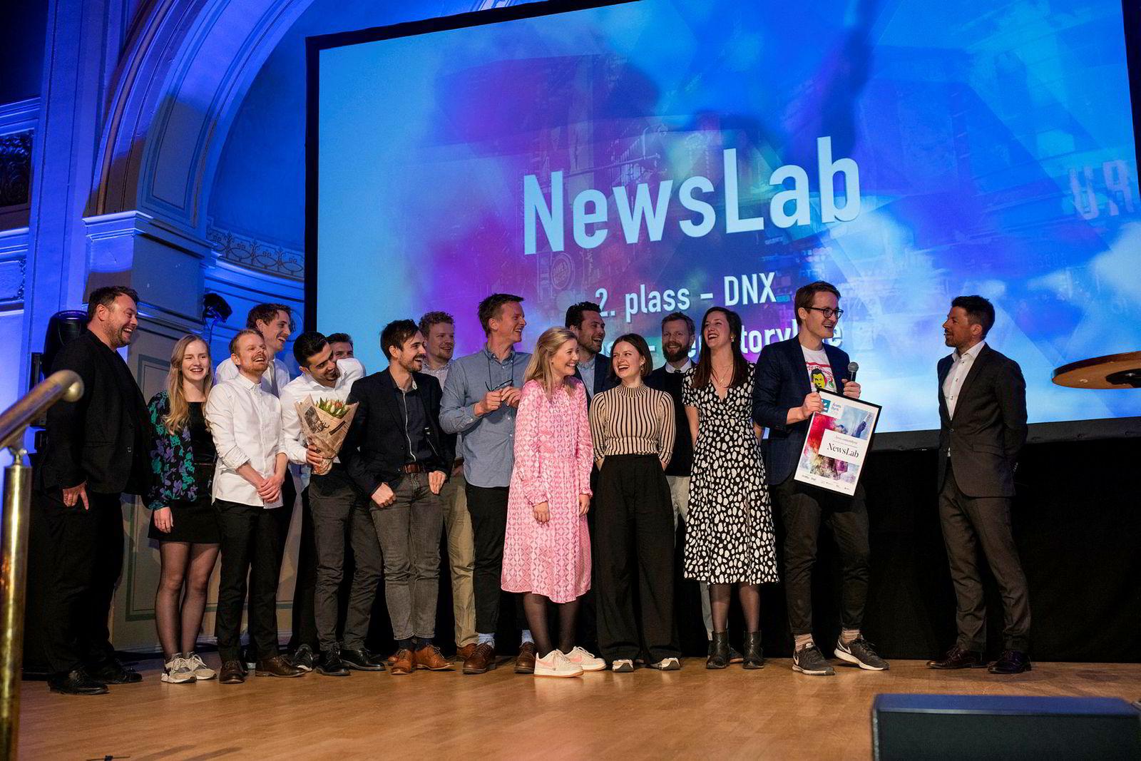 Newslab vant årets contentbyrå.
