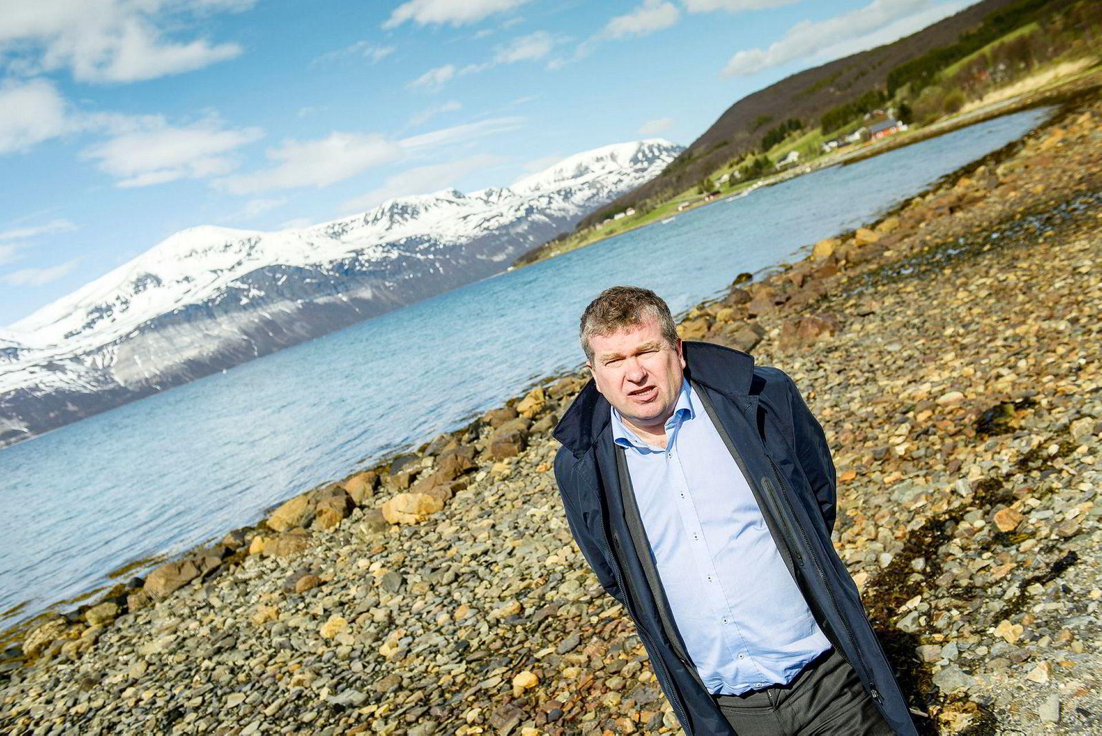Folk som bygger fritidsbolig i Lyngen, får finansiering via Airbnb-utleie, sier ordfører Dan Håvard Johnsen i Lyngen kommune i Troms.