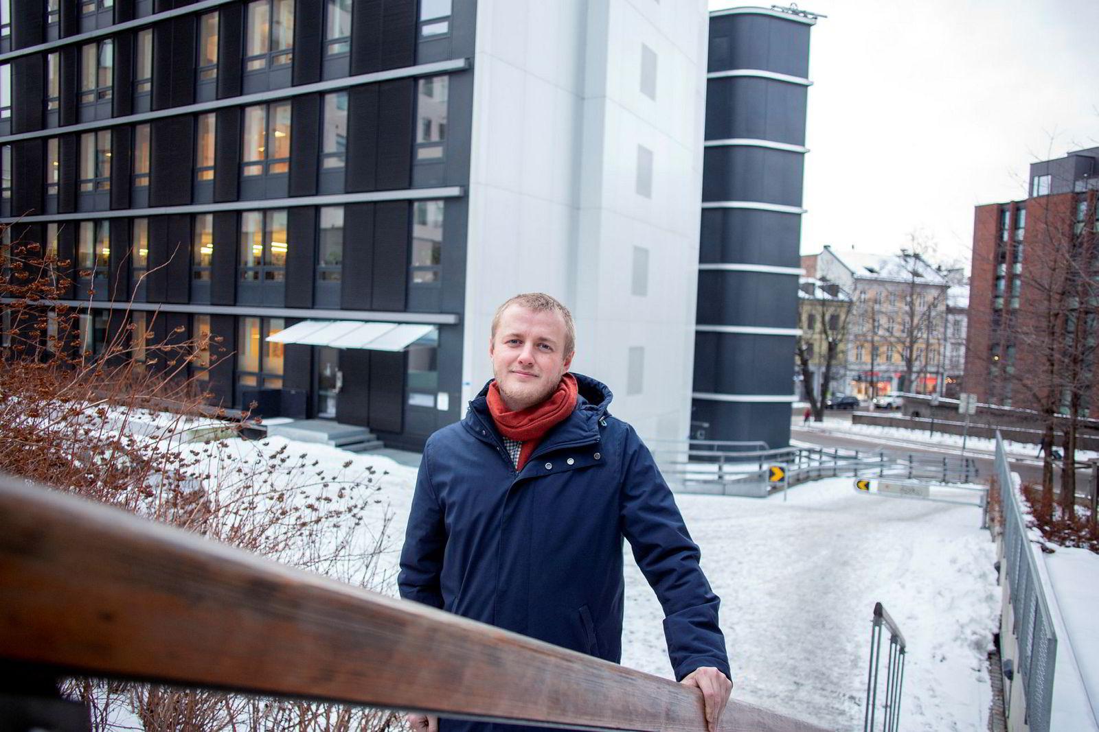 Håkon Randgaard Mikalsen, leder for Norsk studentorganisasjon (NSO), synes det er oppsiktsvekkende at næringslivet ikke har fått øynene opp for verdien av internasjonal erfaring.