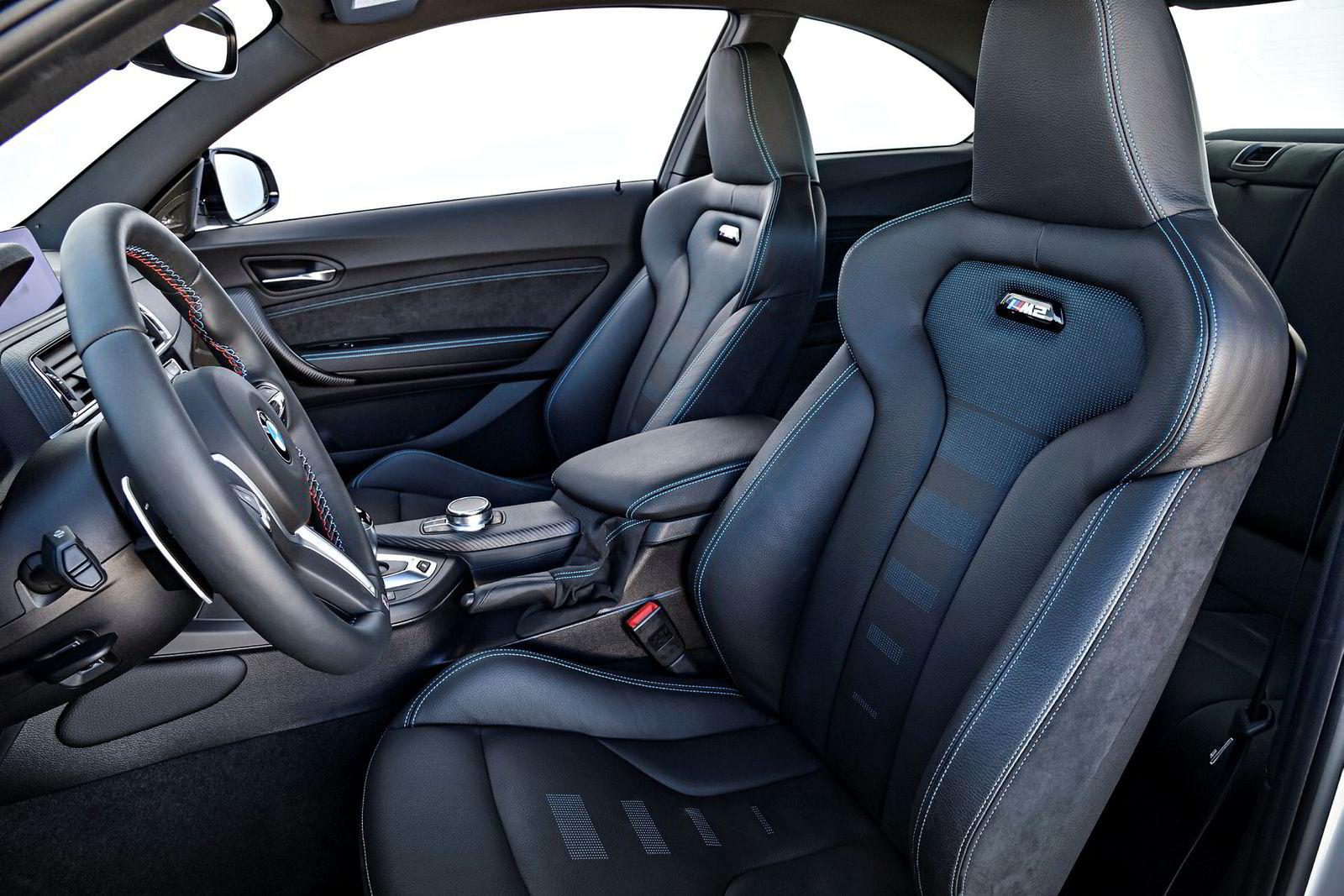 Disse setene ser ut til å kunne gi greit med støtte bak rattet i nye BMW M2 Competition.