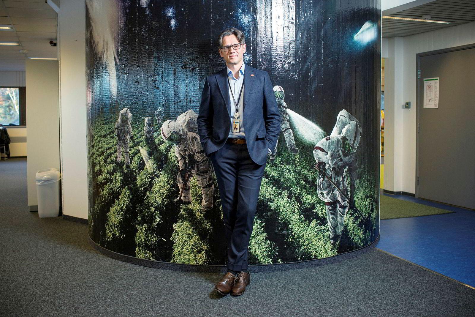 Bernt Skeie er direktør i Prototech
