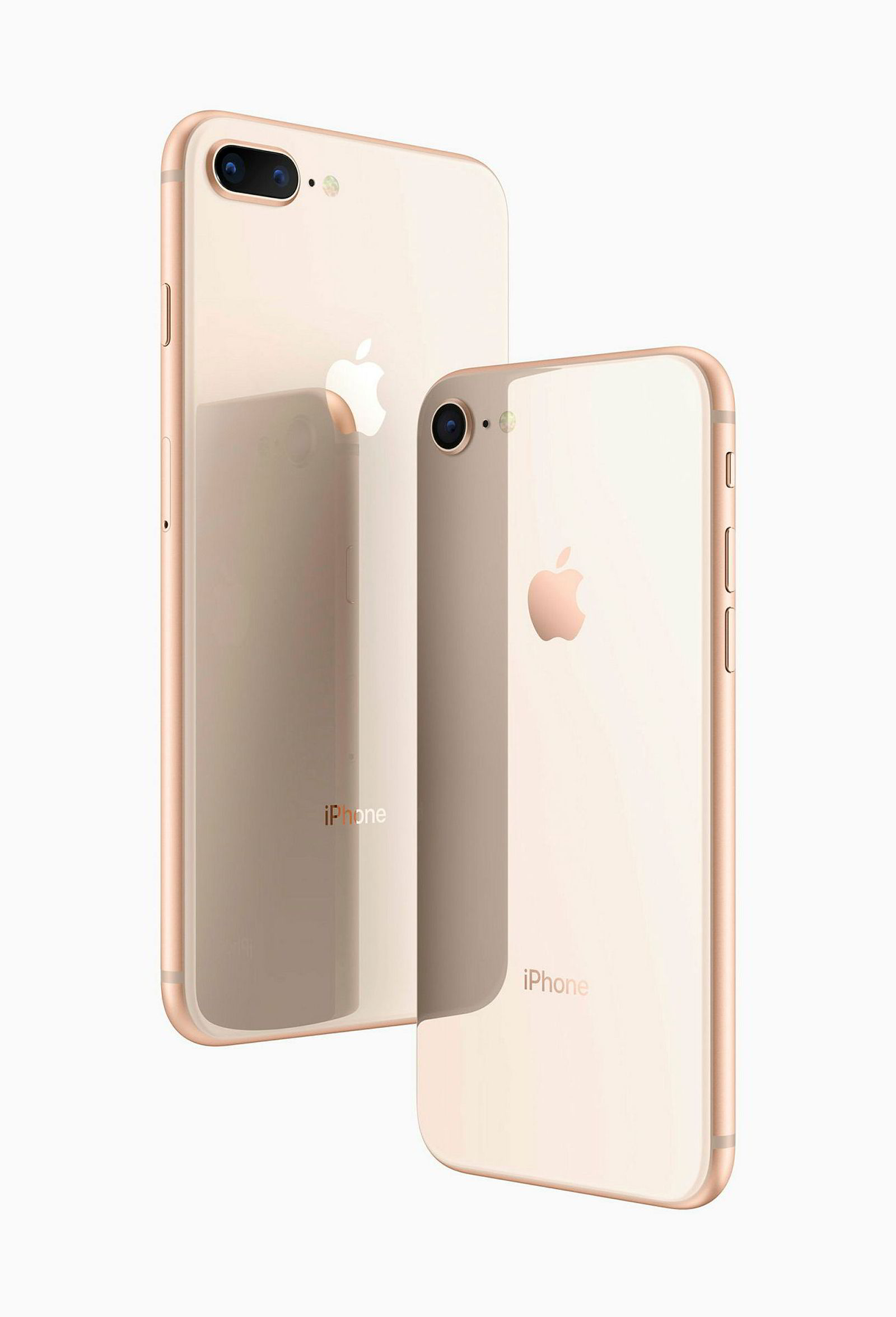 Iphone 8 og 8+.