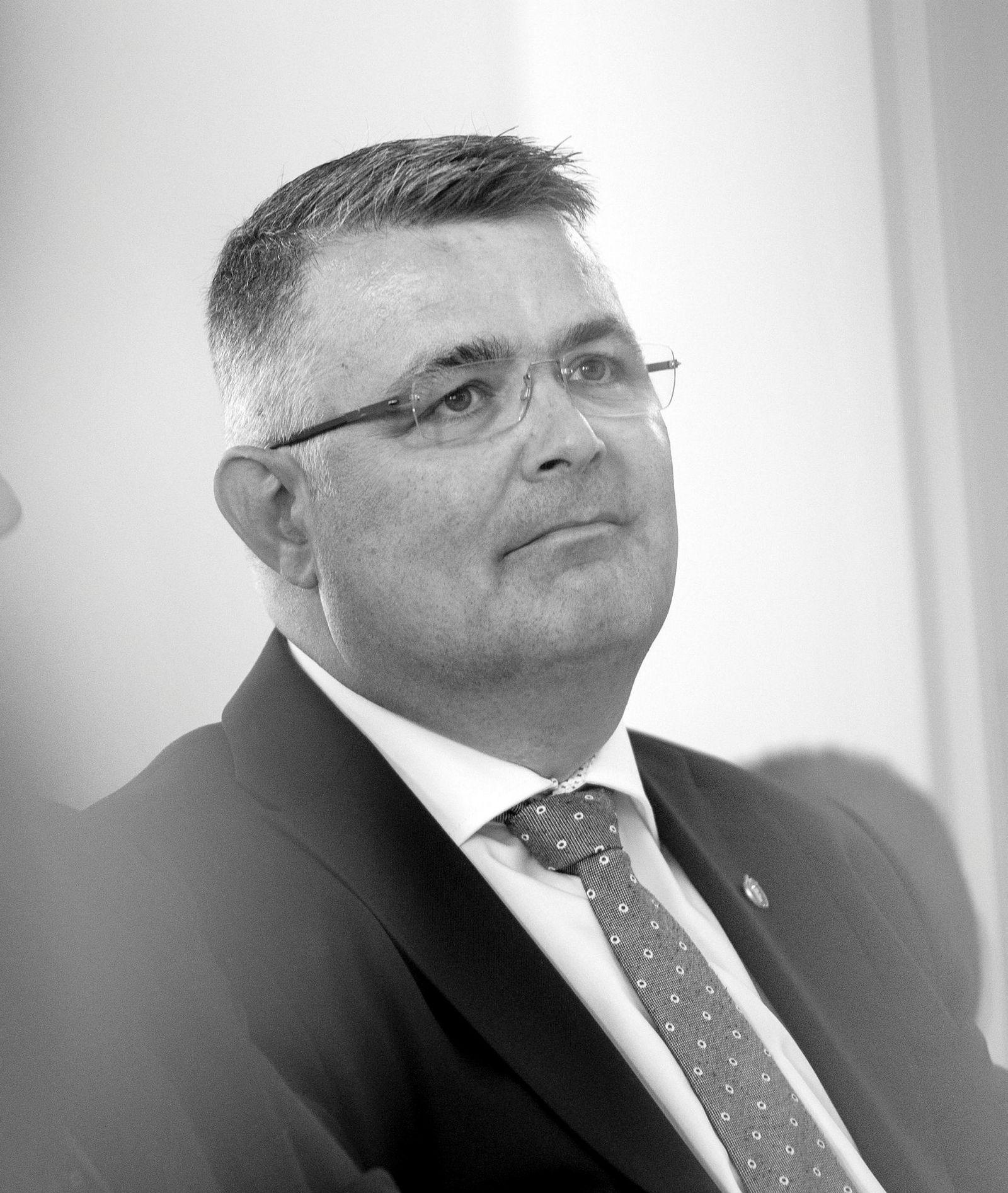 Kjell-Børge Freiberg (Frp), olje- og energiminister.