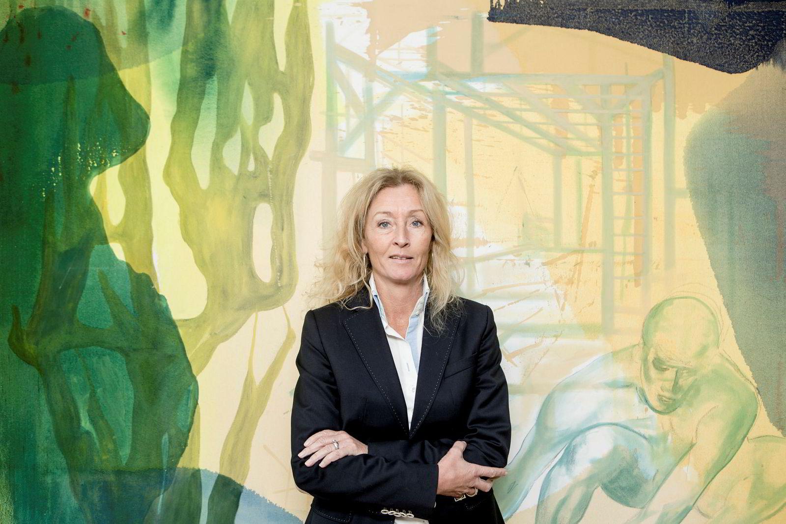 Grethe Meier, administrerende direktør i Privatmegleren. Foto: Fredrik Bjerknes