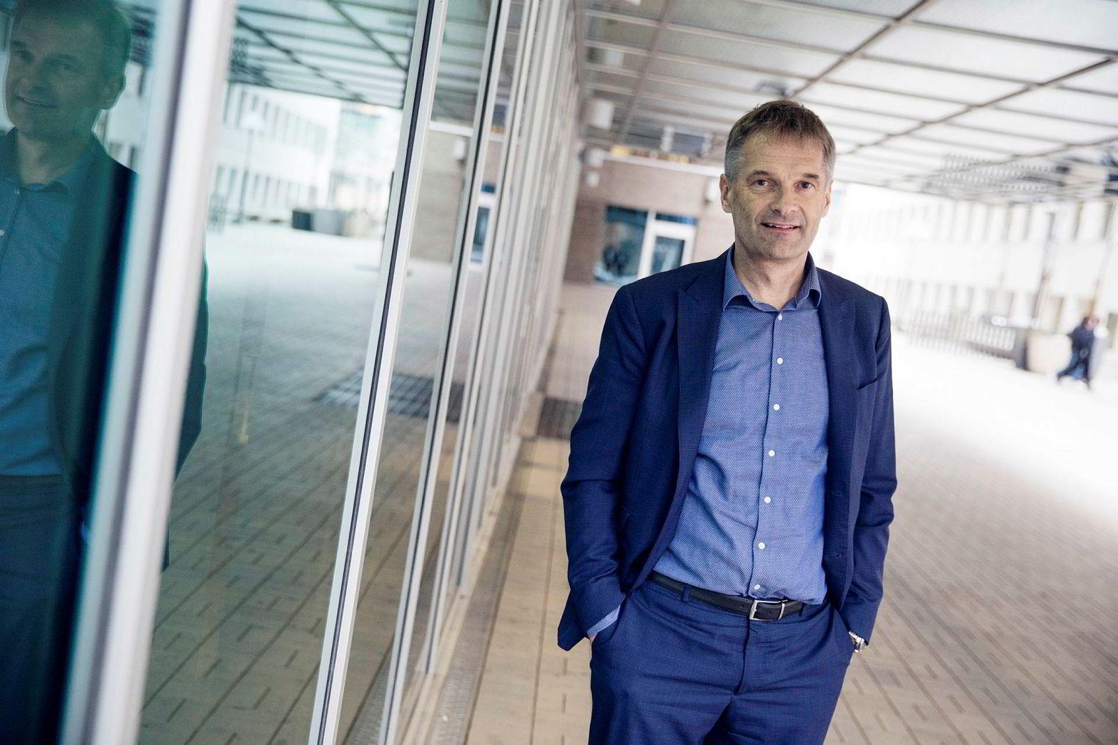 Abraham Foss, adm.dir. i Telia Norge.