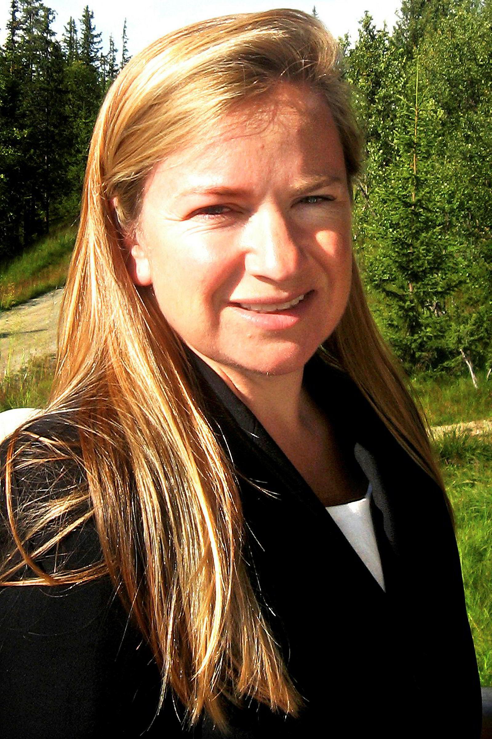 Ellen Kathrine Dyvik. Bildet er fra 2007.