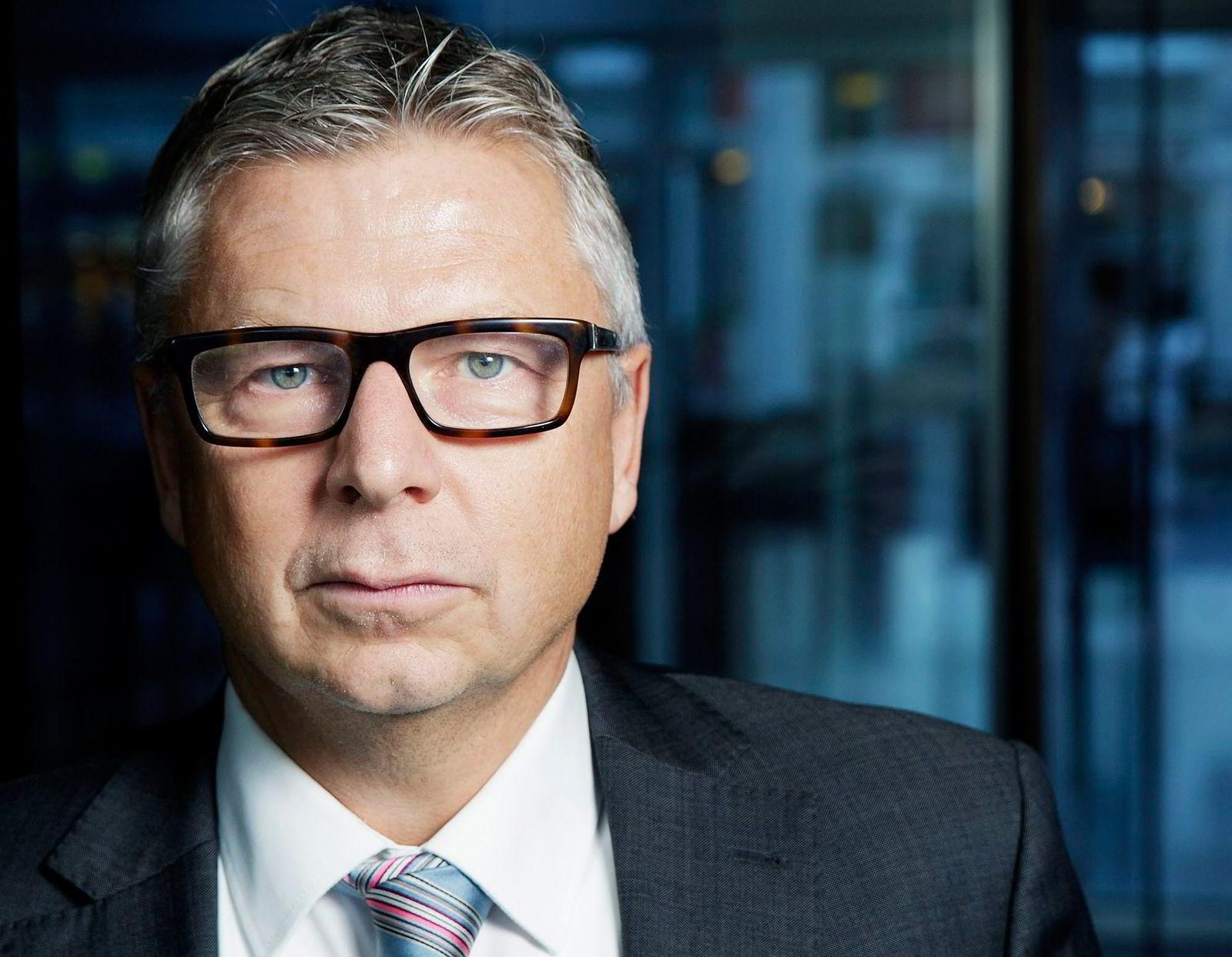 Sjefanalytiker Erik Bruce i Nordea Markets. Foto: Paul S. Amundsen.