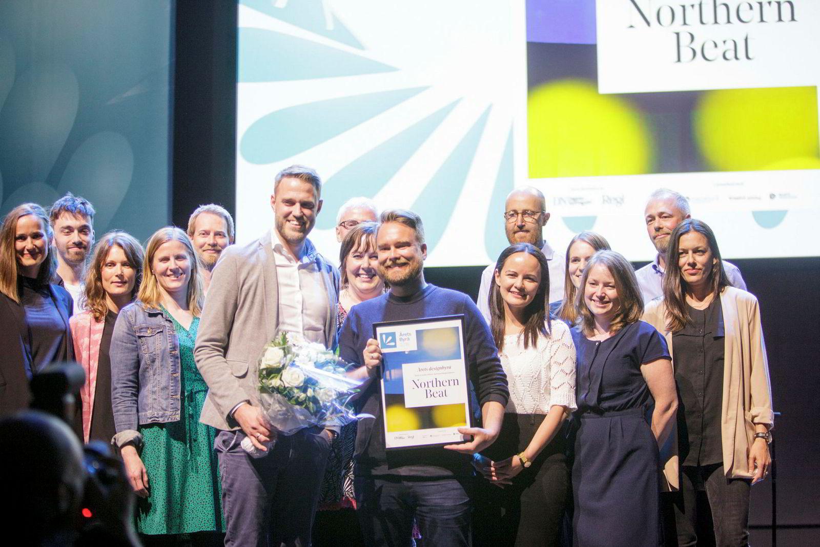 Northern Beat vant fagpris for digital kompetanse og ble i tillegg årets designbyrå.