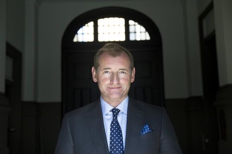 Administrerende direktør Carl O. Geving i Norges Eiendomsmeglerforbund. FOTO: ELIN HØYLAND
