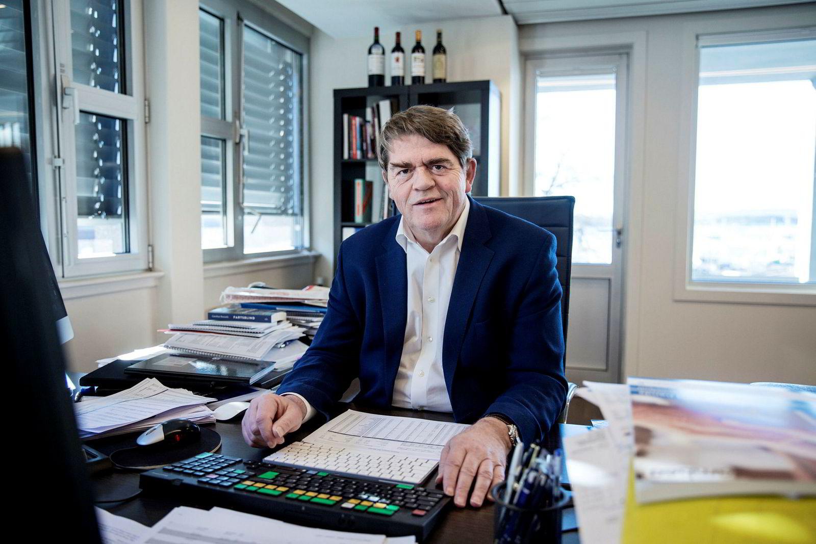 Investor og porteføljeforvalter Jan Petter Sissener har jaktet på tomten i nærmere to år og har en drøm om leiligheten han og kona skal bo i der.