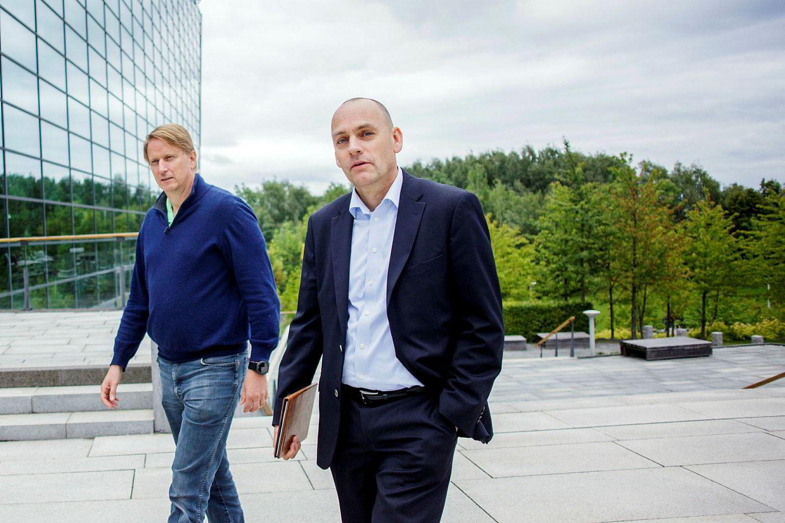 Leder for Telenors mobildivisjon, Bjørn Ivar Moen, ønsker seg flere eldre mobilsurfere.