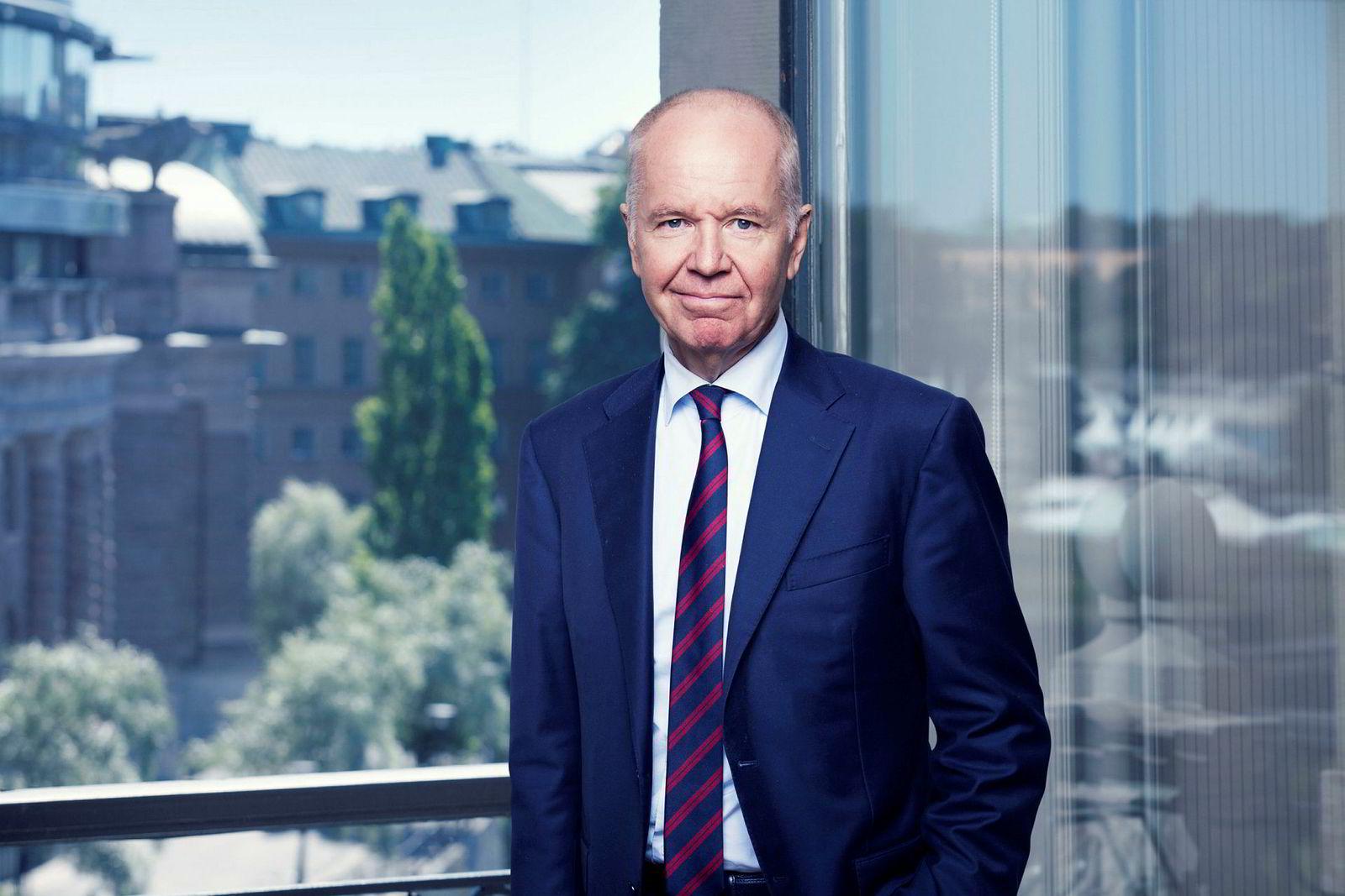 Konsernsjef Jonas Wiström, Ratos.