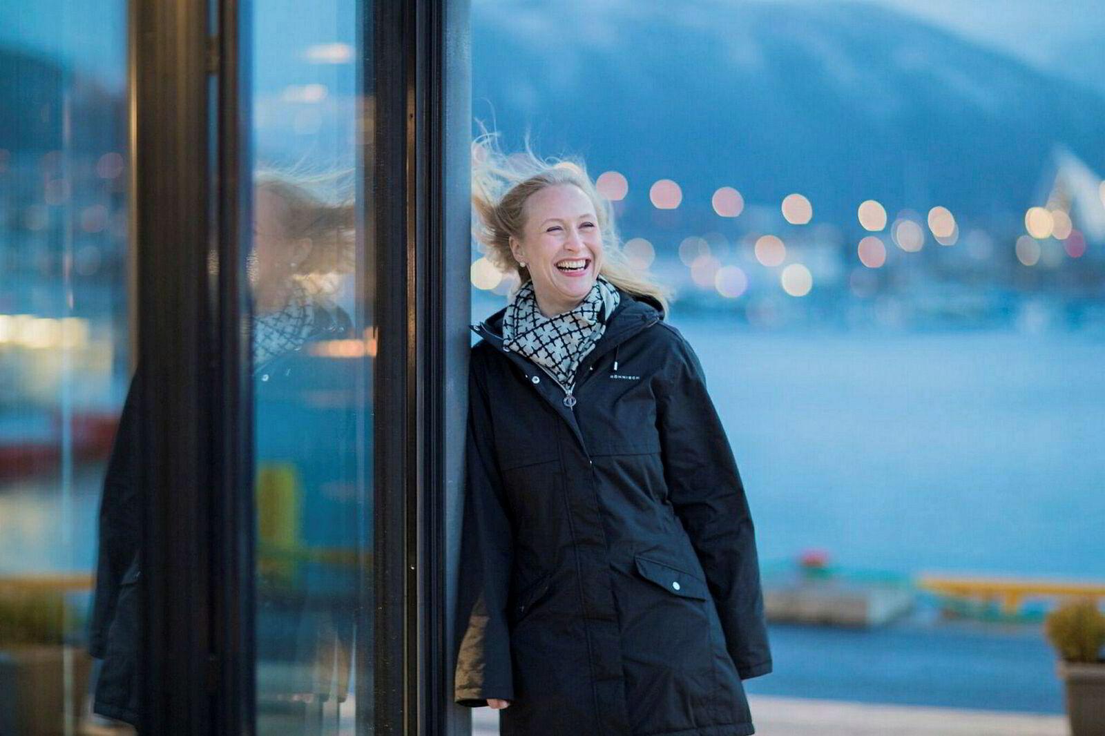 Renate Larsen er administrerende direktør i Norges sjømatråd.