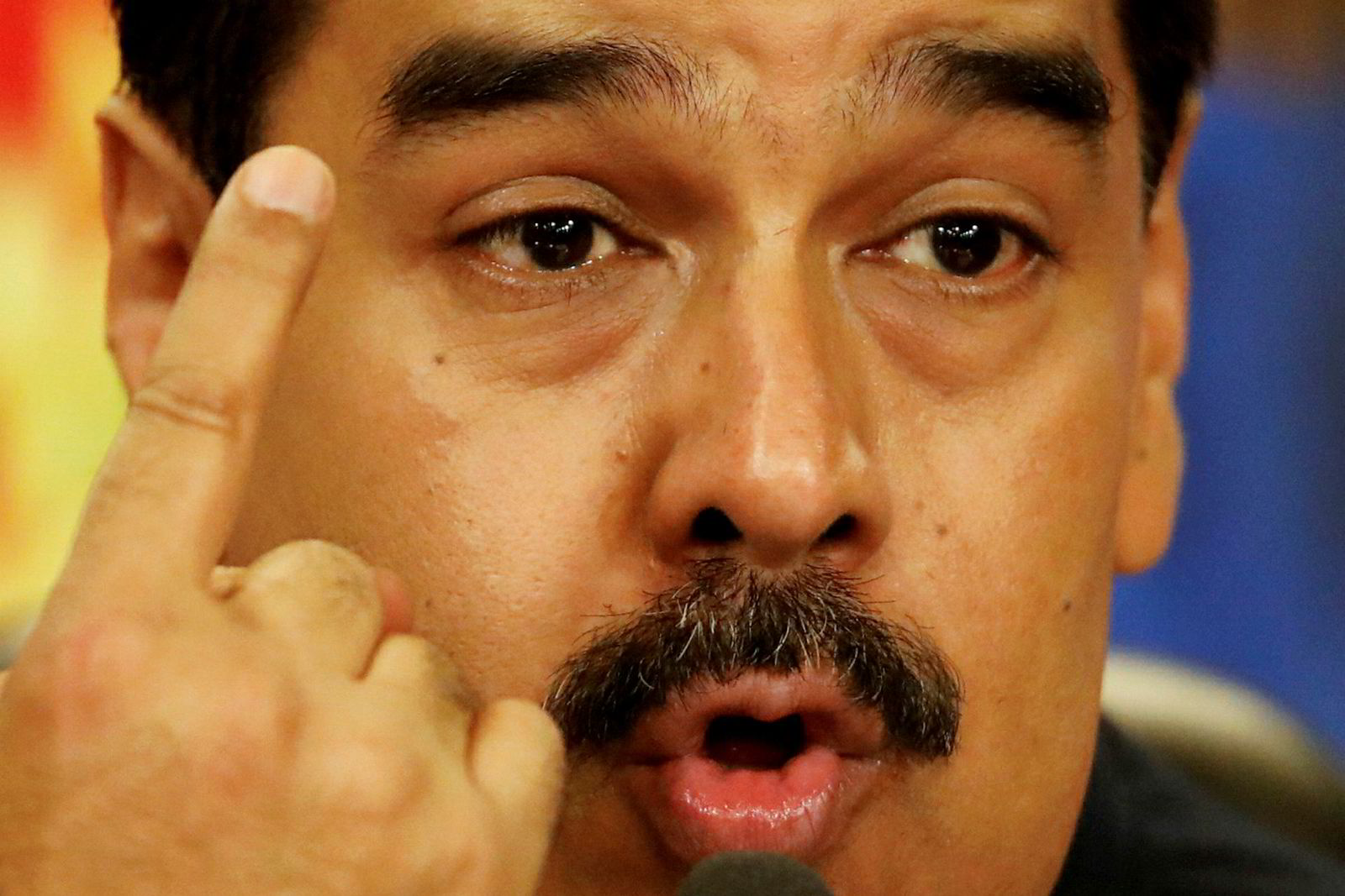President Nicolás Maduro har tatt jerngrep om Venezuela.