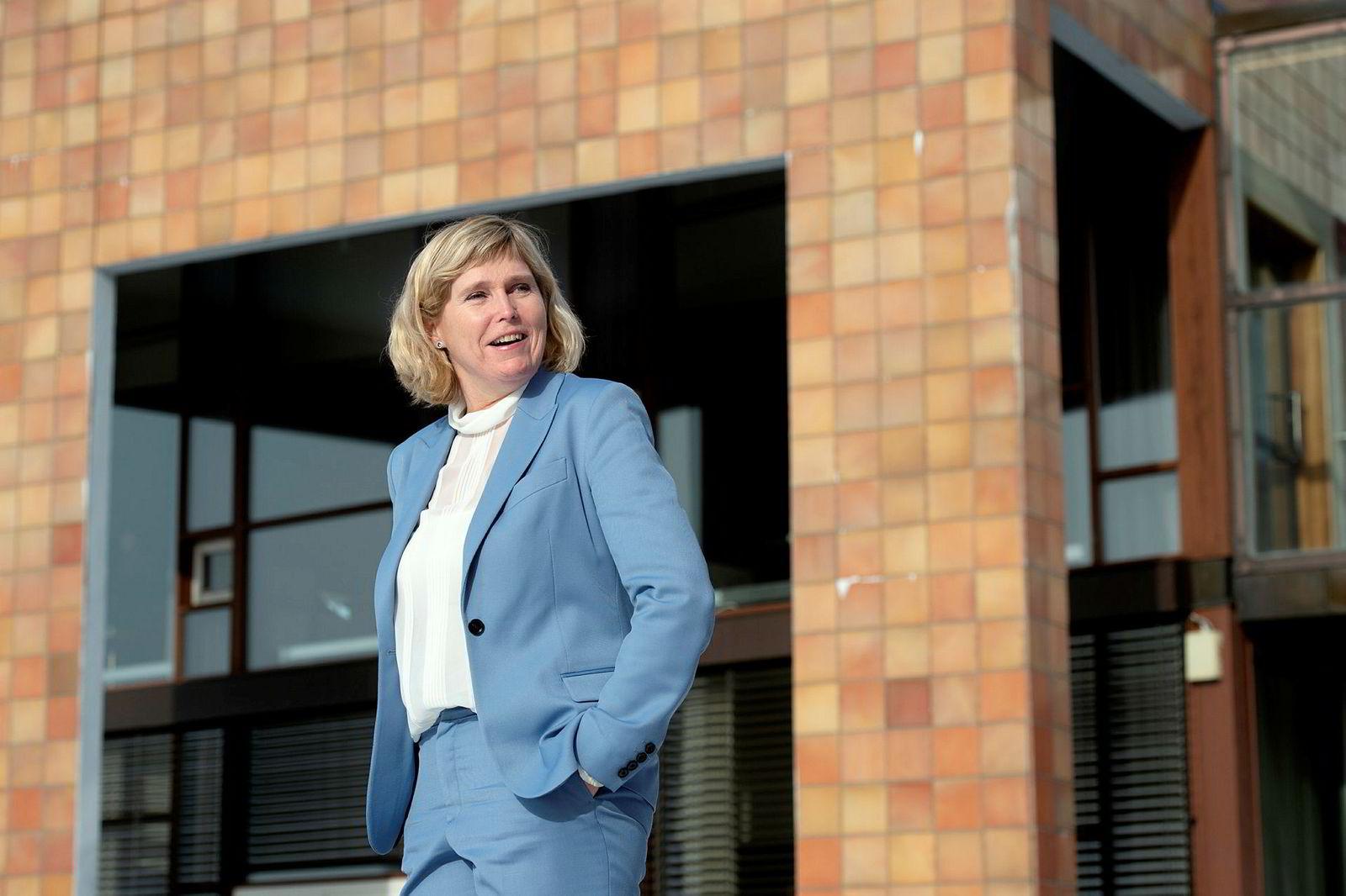 Trude Sundset er sjef for Gassnova, statens klimateknologiselskap, som koordinerer fangst- og lagringsplanen. Hun er i tillegg arrangør av Climit-konferansen.