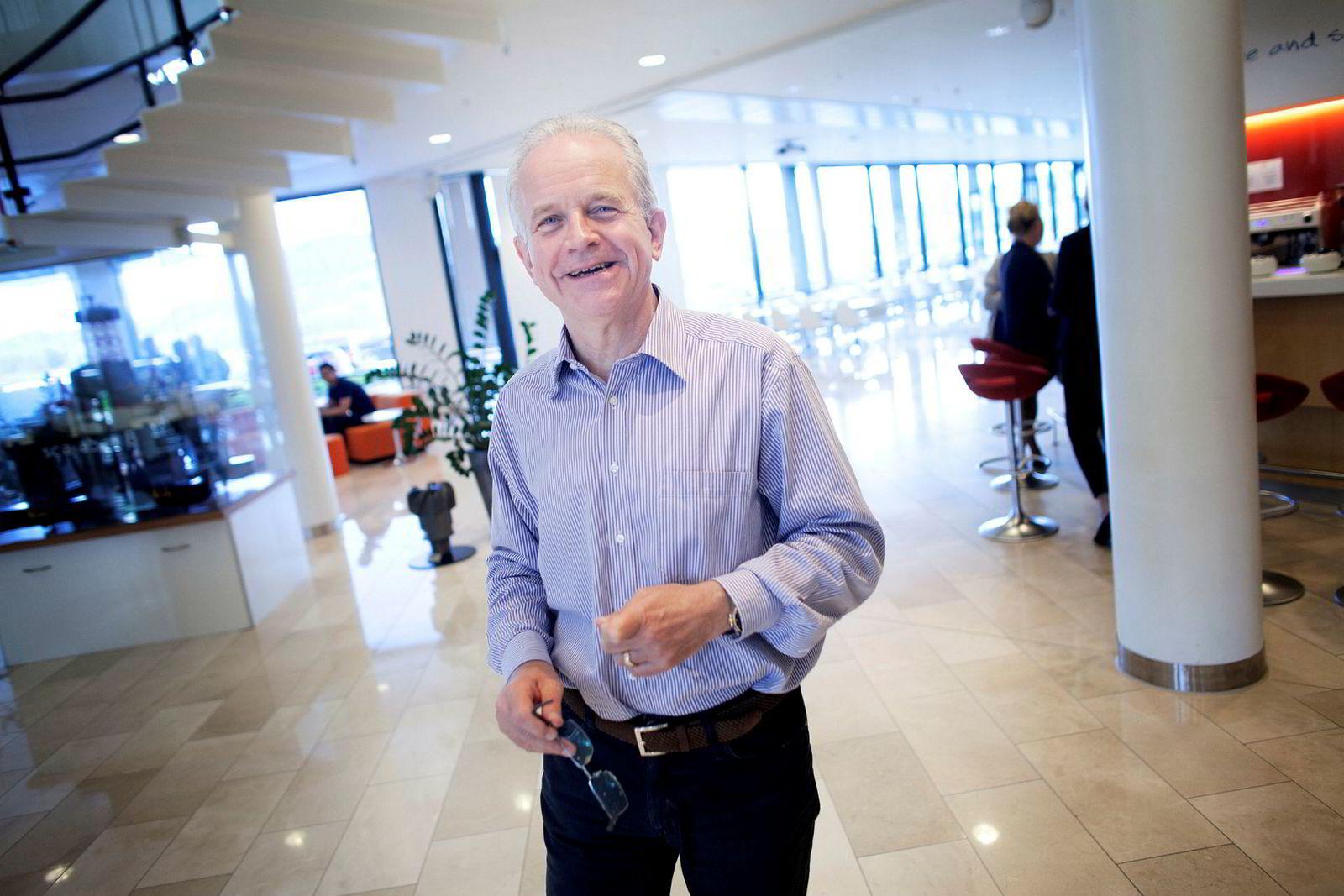 Philip Hemmens, sjef for Eni i Norge, blir styreleder i det nye selskapet.
