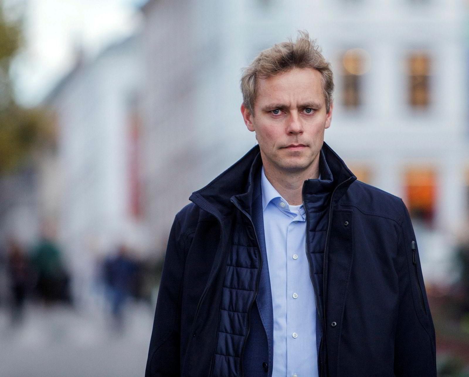 Ola Borten Moe ledet arbeidsgruppen i Senterpartiet.