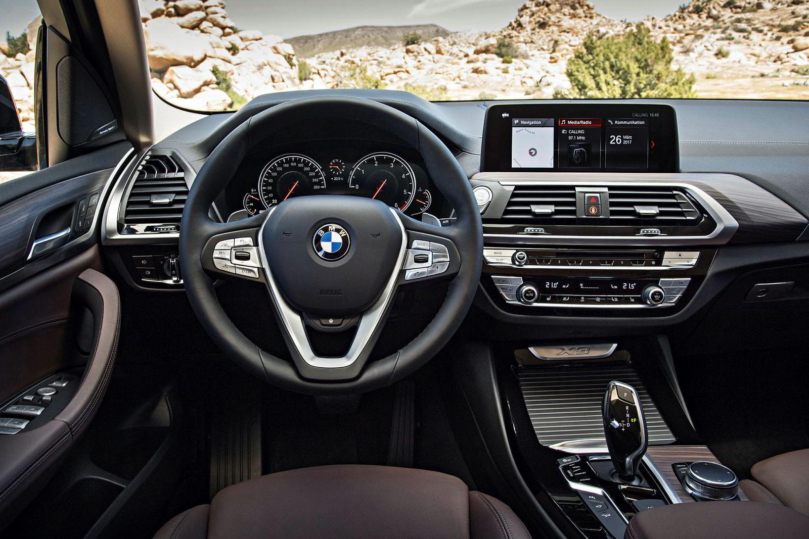 Nye BMW X3.