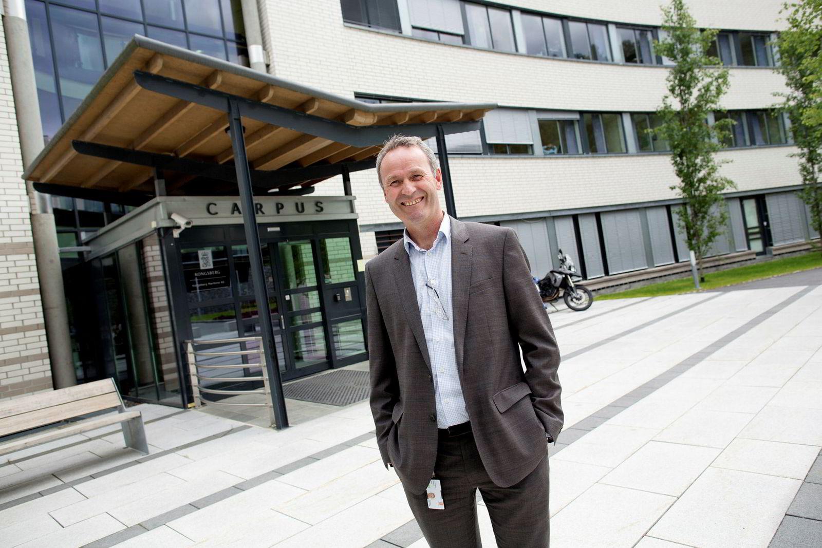 HR-direktør Hans Petter Blokkum, i Kongsberggruppen.
