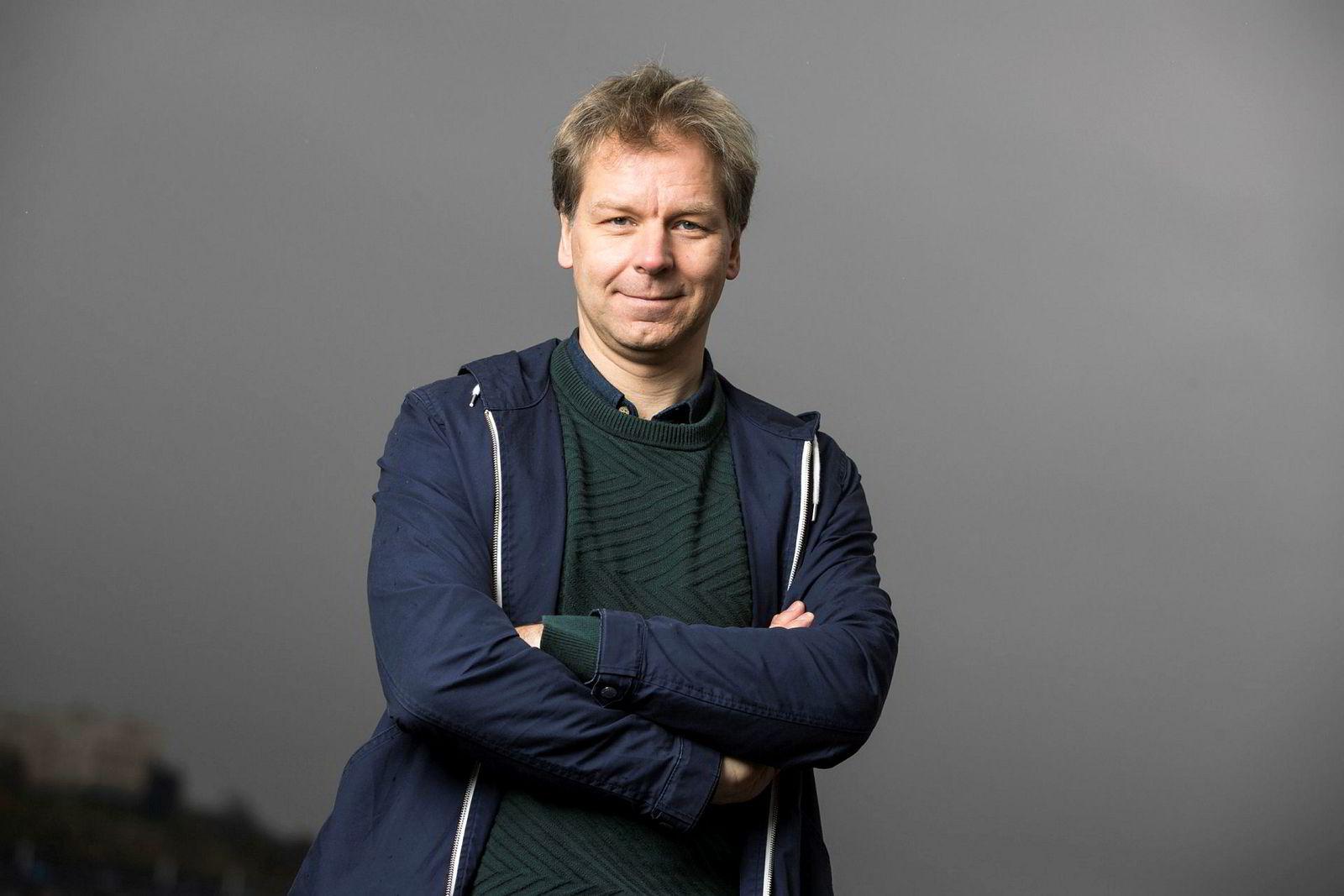 Komiker Espen Eckbo.