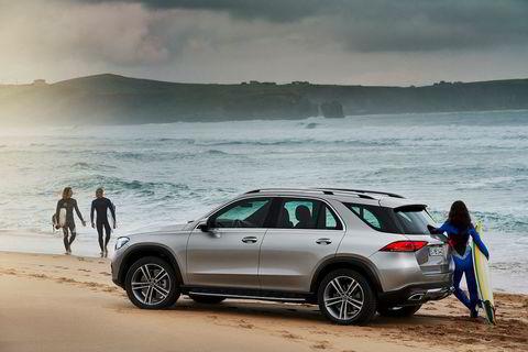Som alle andre suvprodusenter, håper Mercedes å tiltrekke seg surferne.